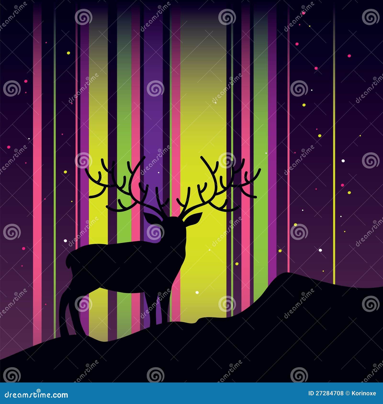 Cervos e Aurora