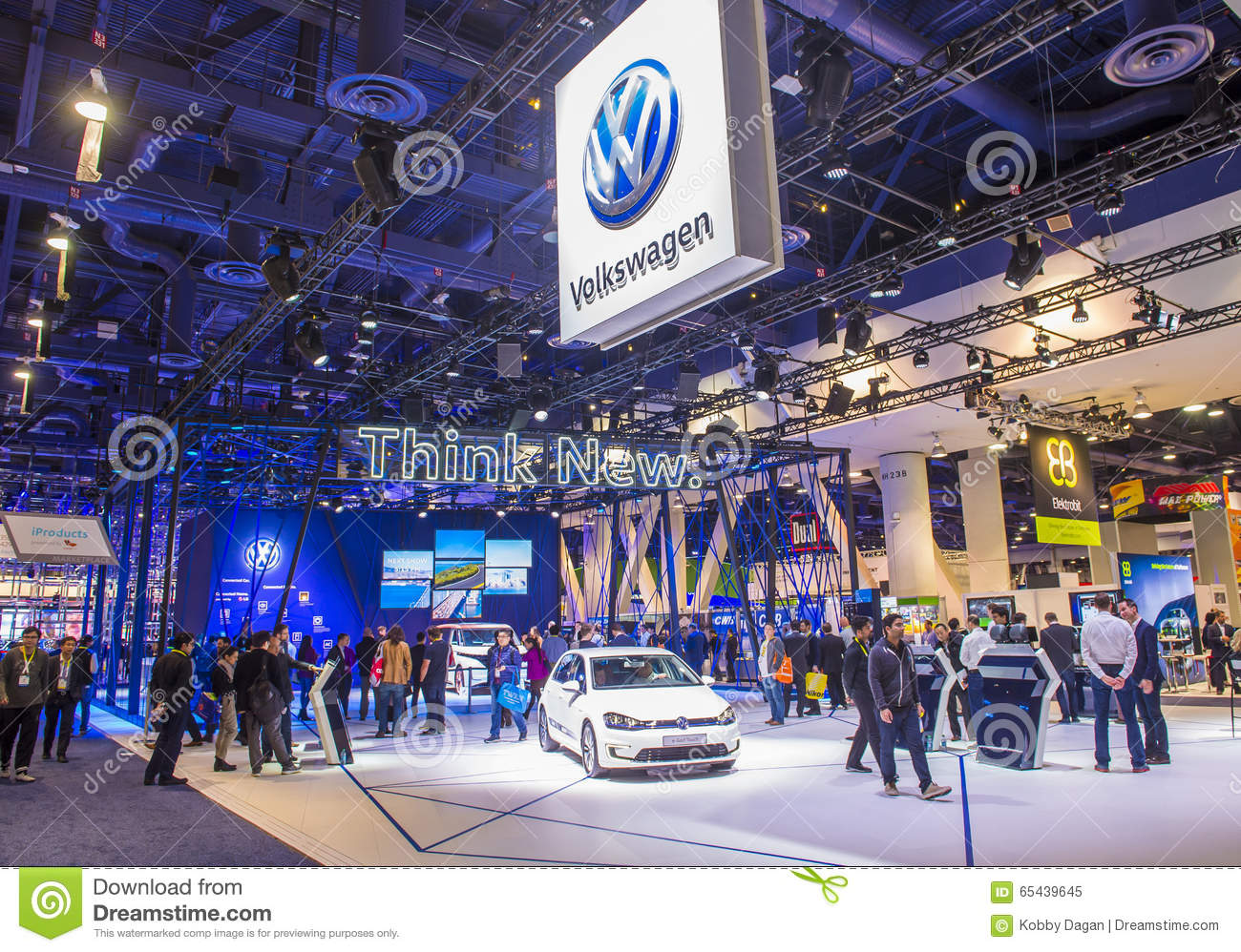 CES Editorial Image Image Of Automobile Toyota - Vw car show las vegas