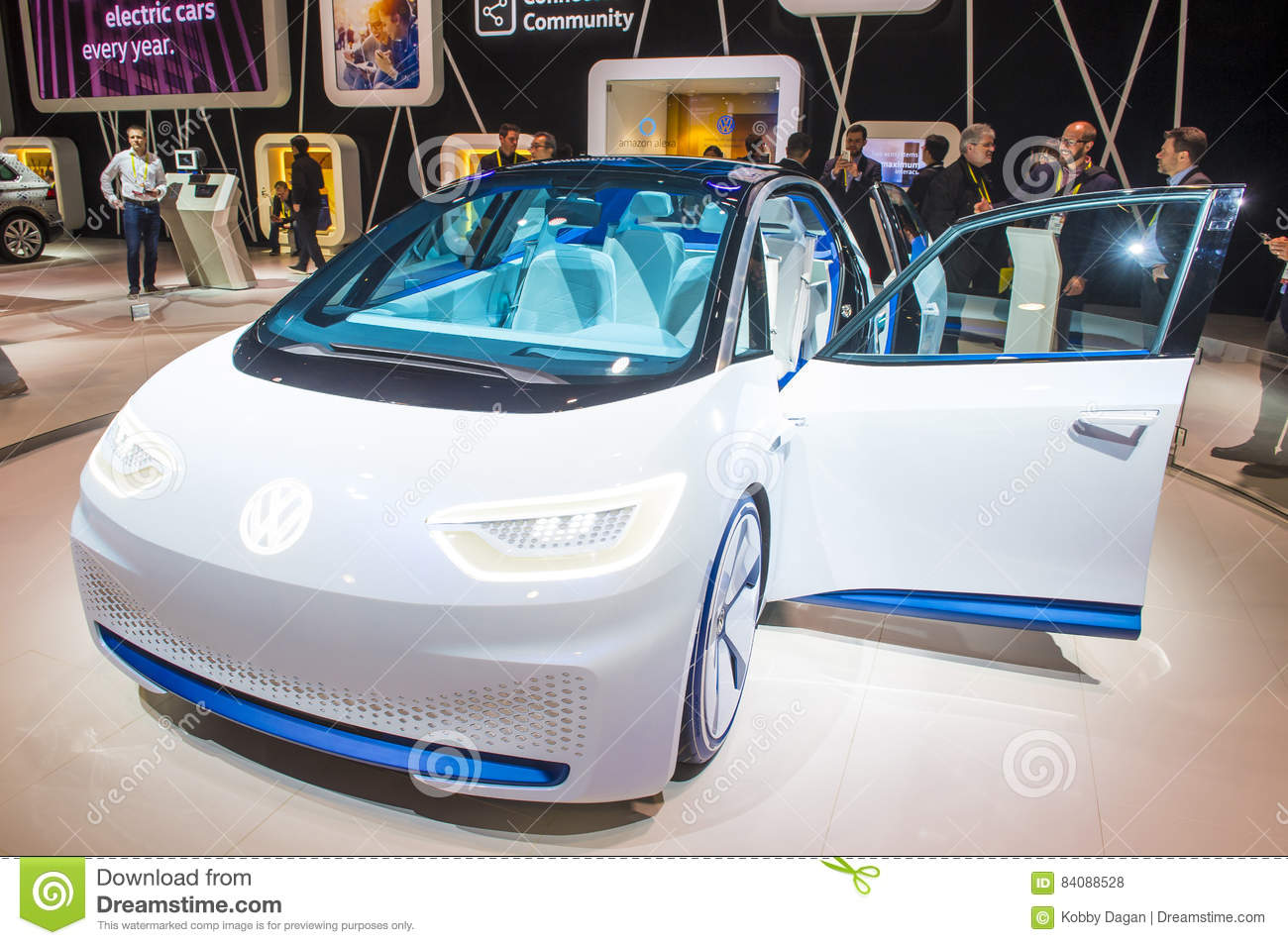 CES Editorial Stock Photo Image Of Motor Automotive - Vw car show las vegas