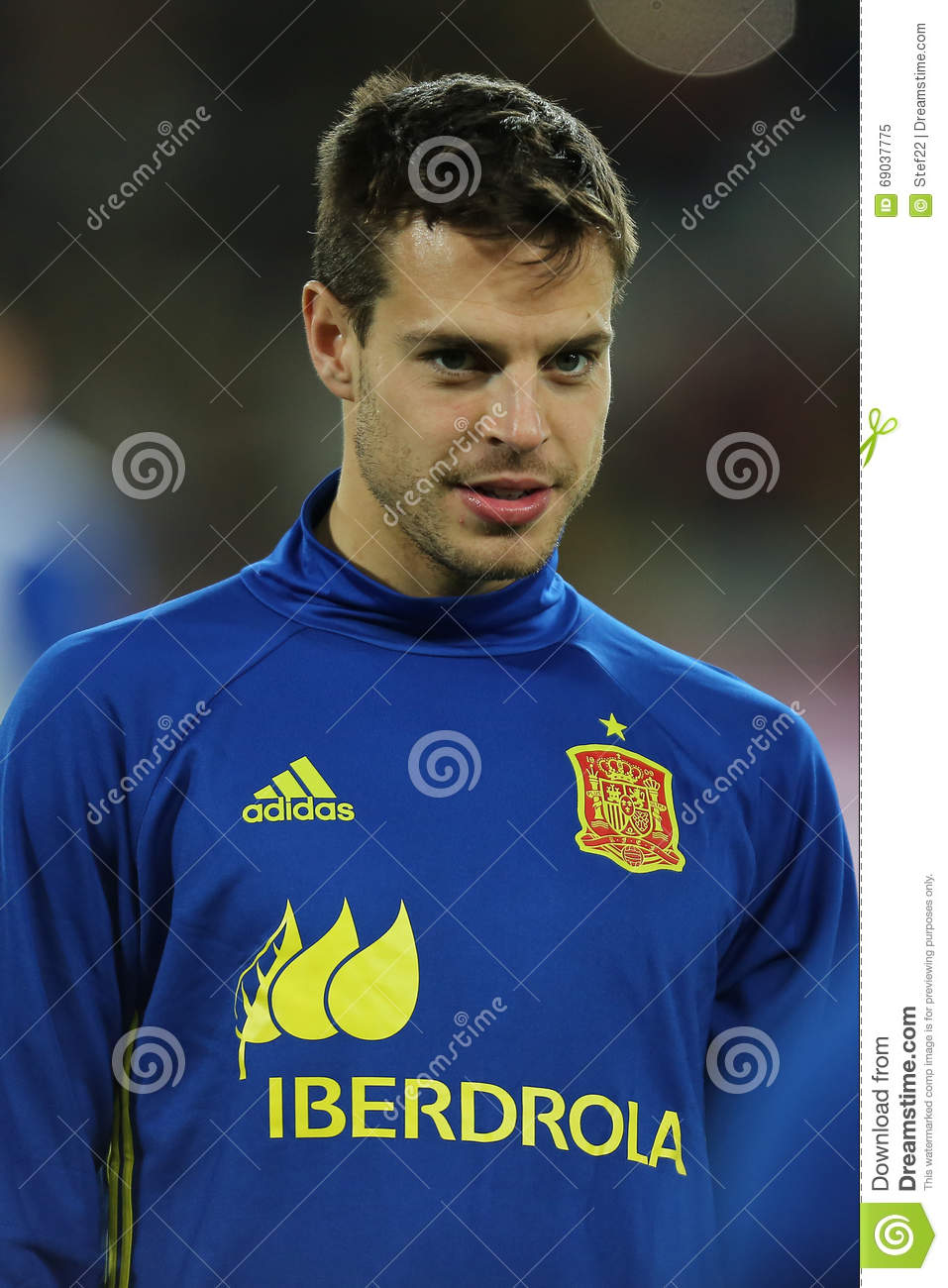 Cesar Azpilicueta editorial image Image of defender
