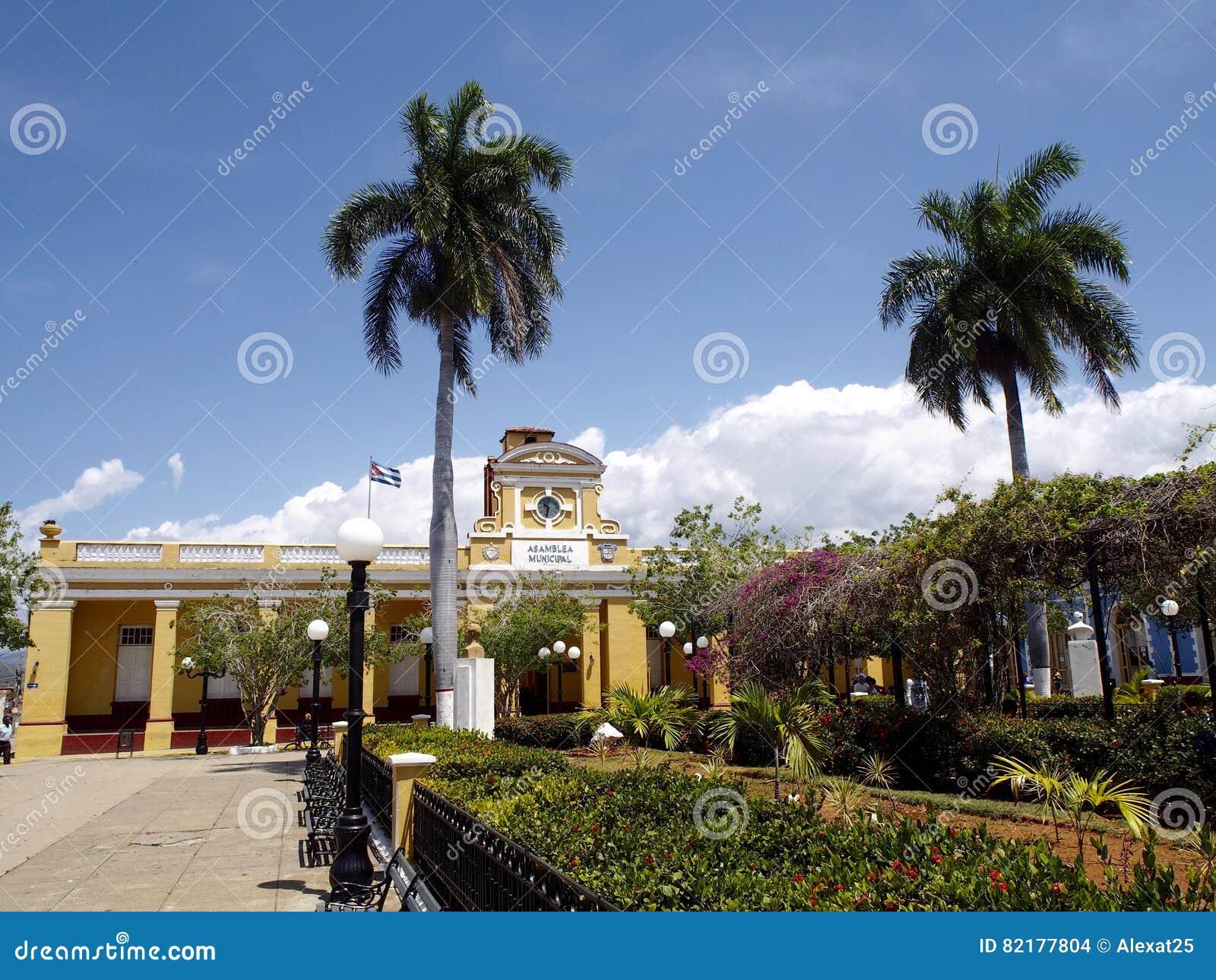 Cespedes Central Park i Trinidad