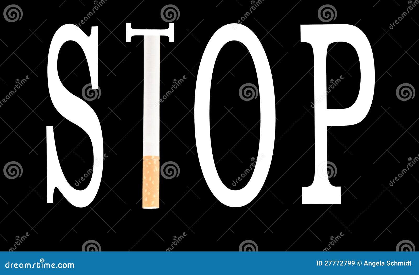 Cessez de fumer la cigarette