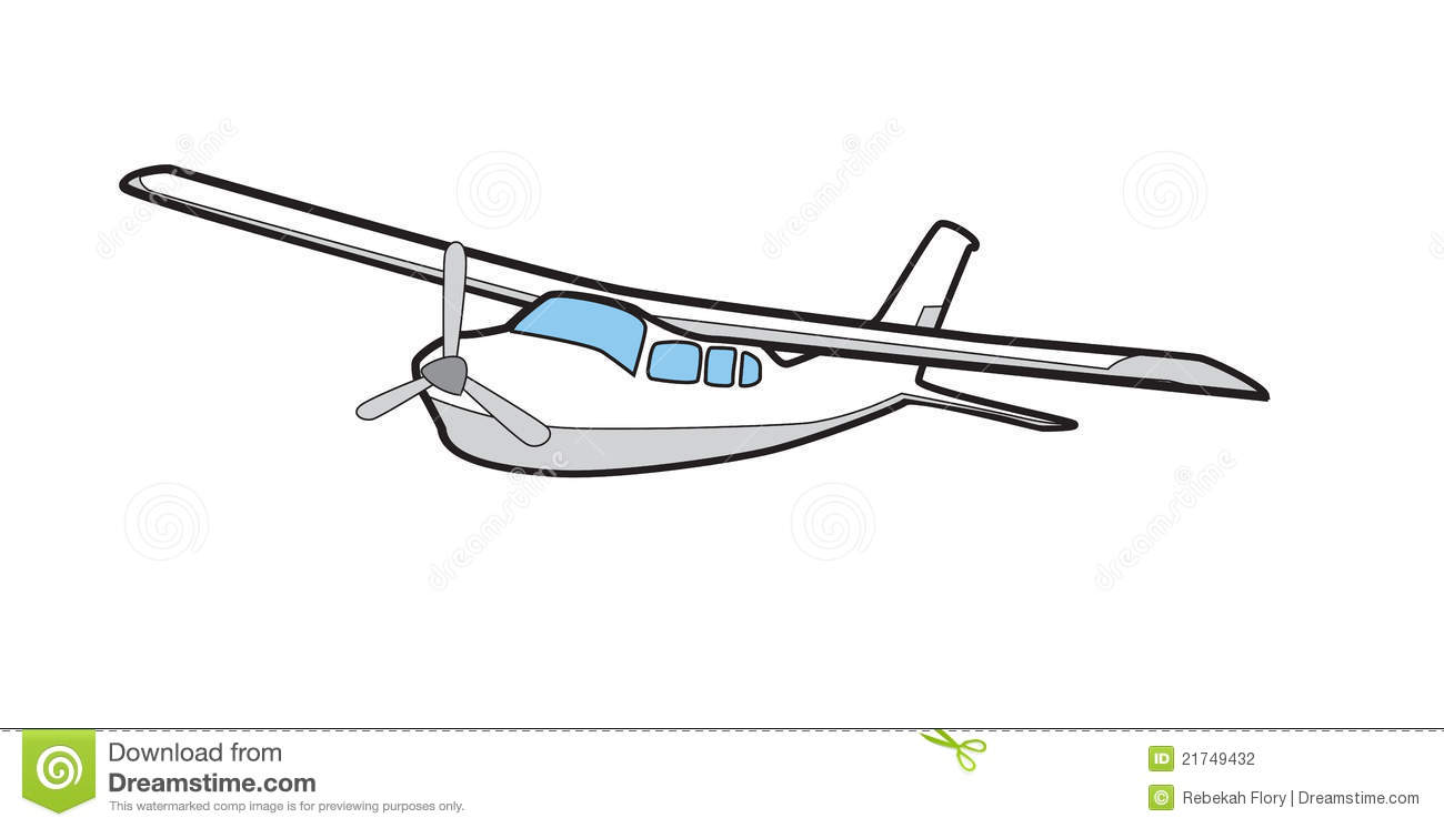 Cessna 210 Illustration Airplane Stock Photography Image 21749432