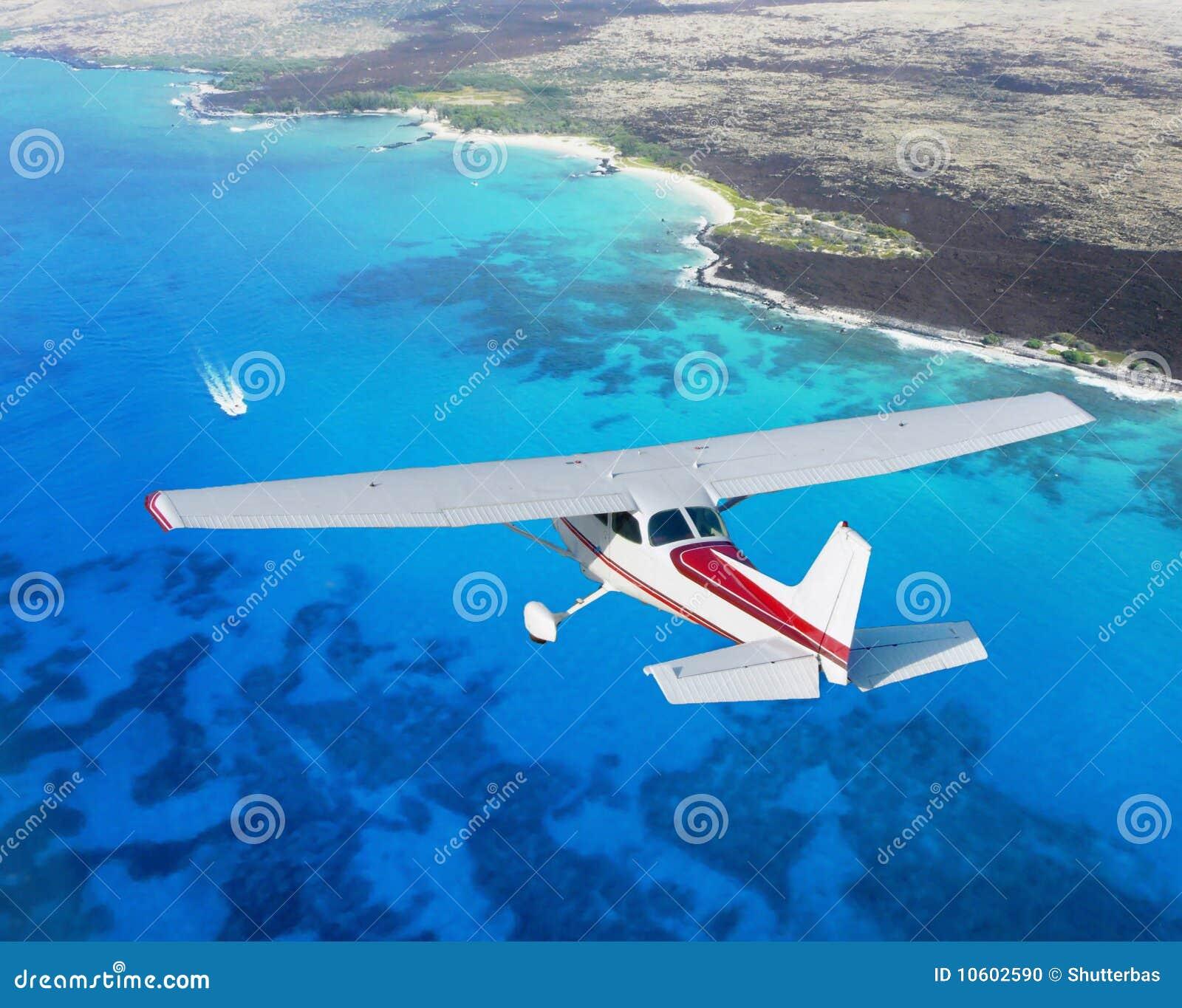 Cessna cruising