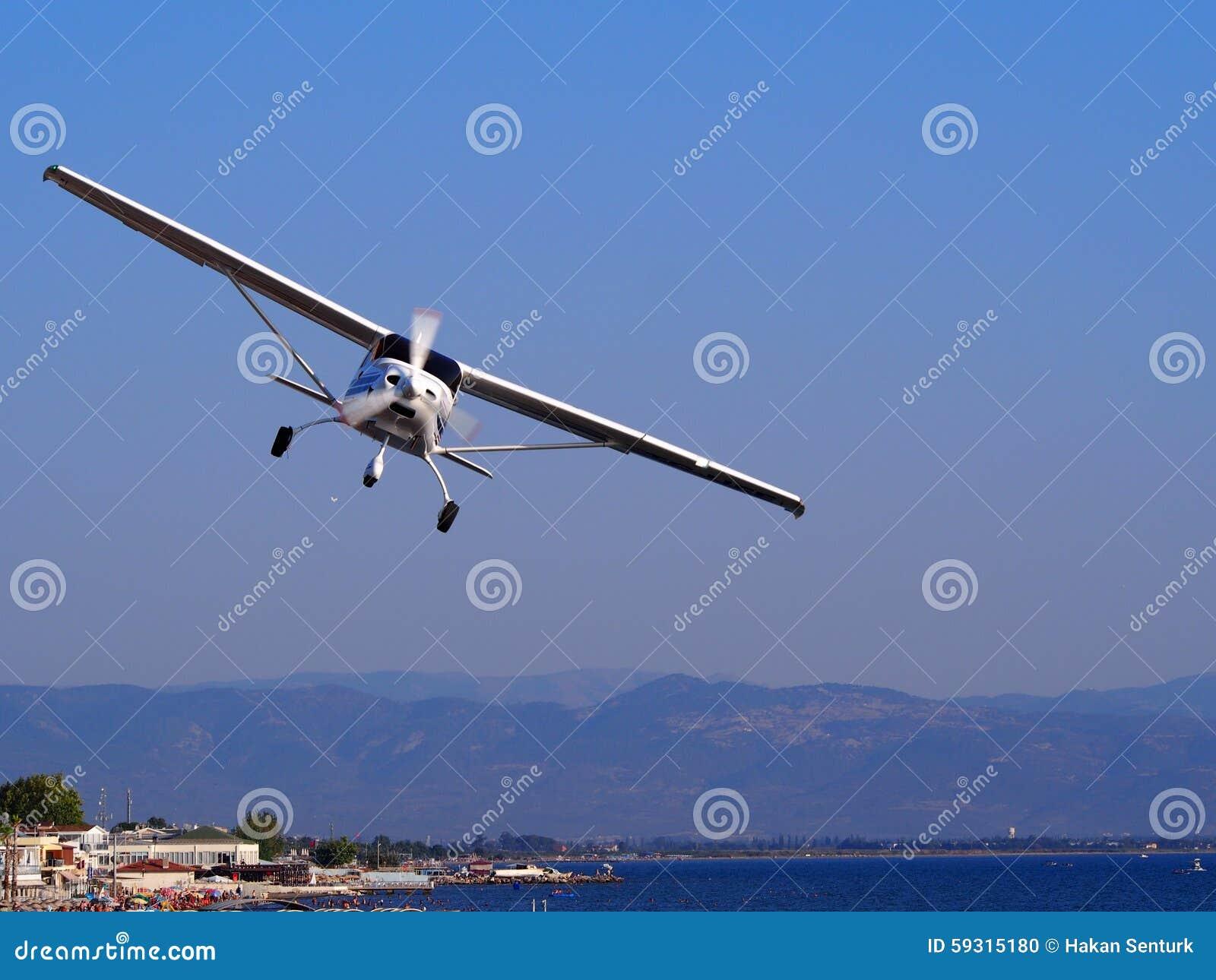 Cessna nivå i flykten