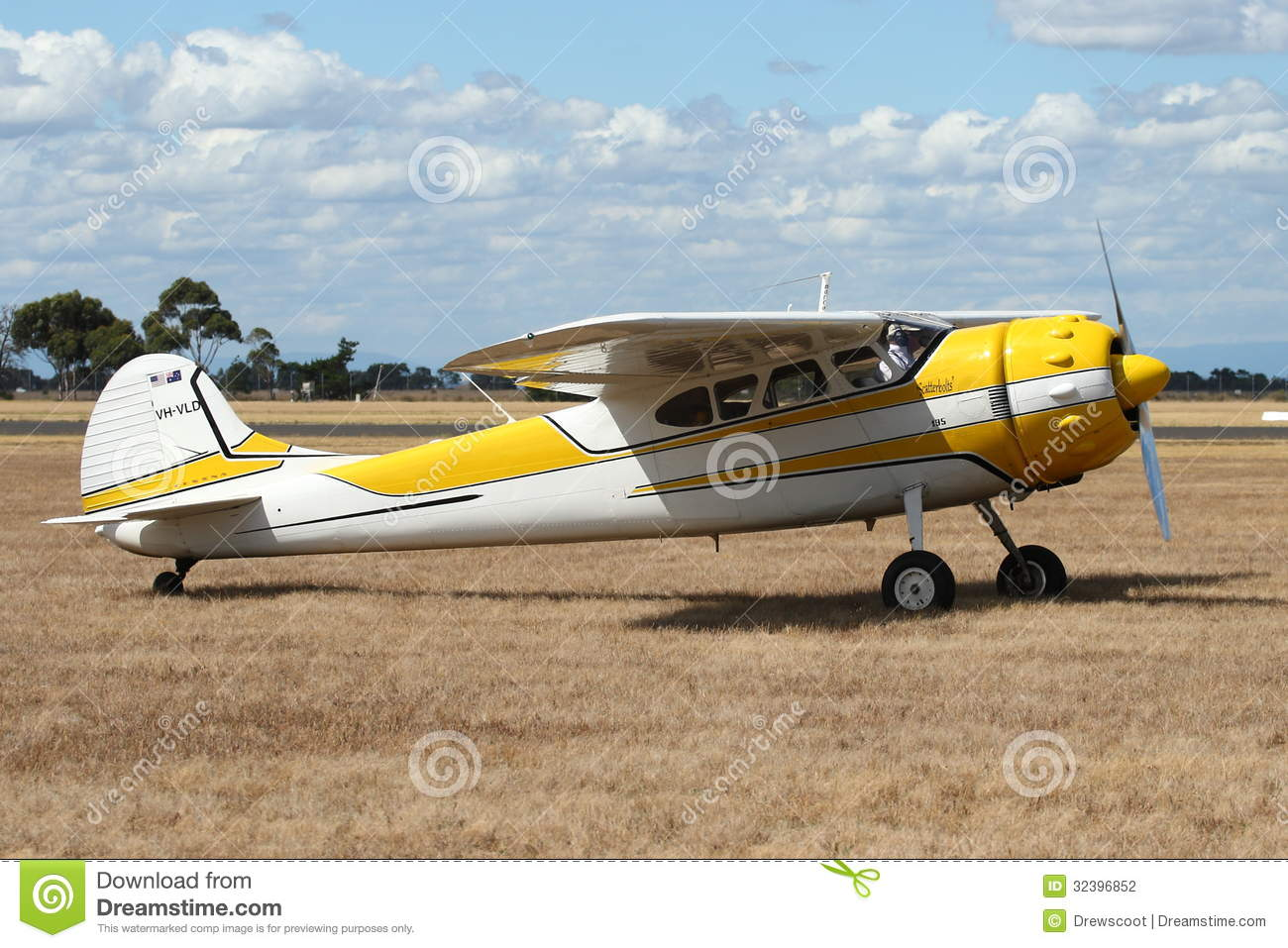 Point Cook Australia  City pictures : POINT COOK, AUSTRALIA FEBRUARY 26: Cessna 195 passenger aircraft ...