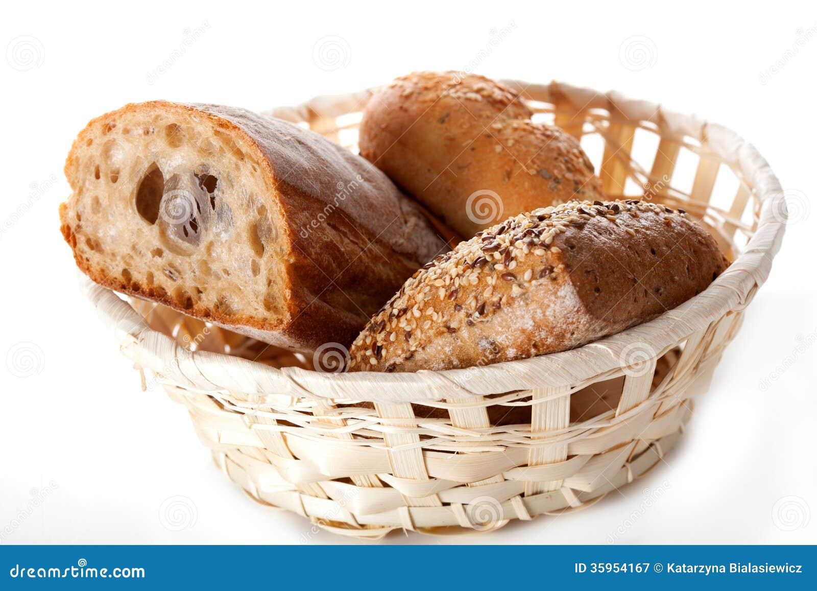 Cesta con pan