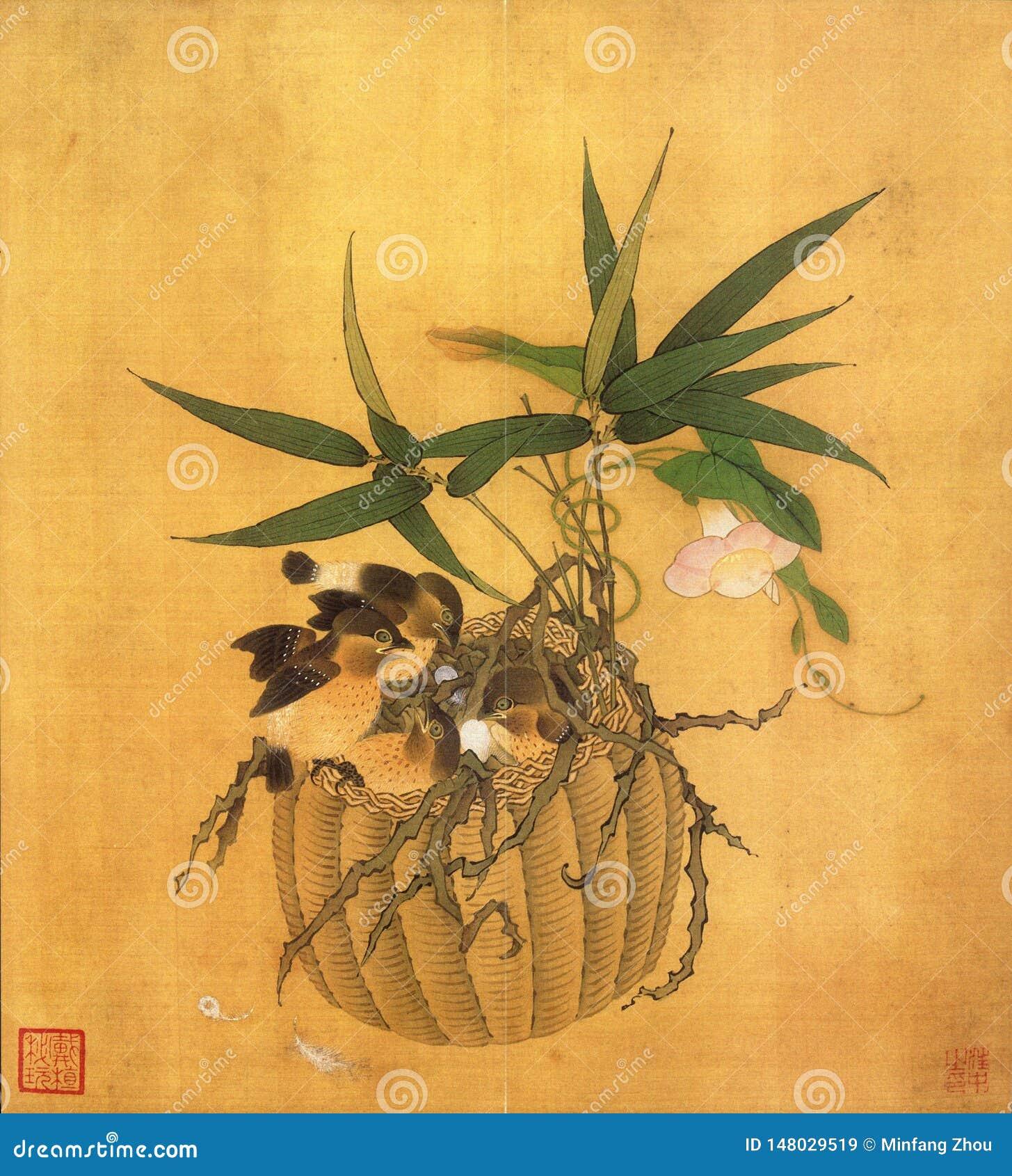 Cesta da flor e arte da flor