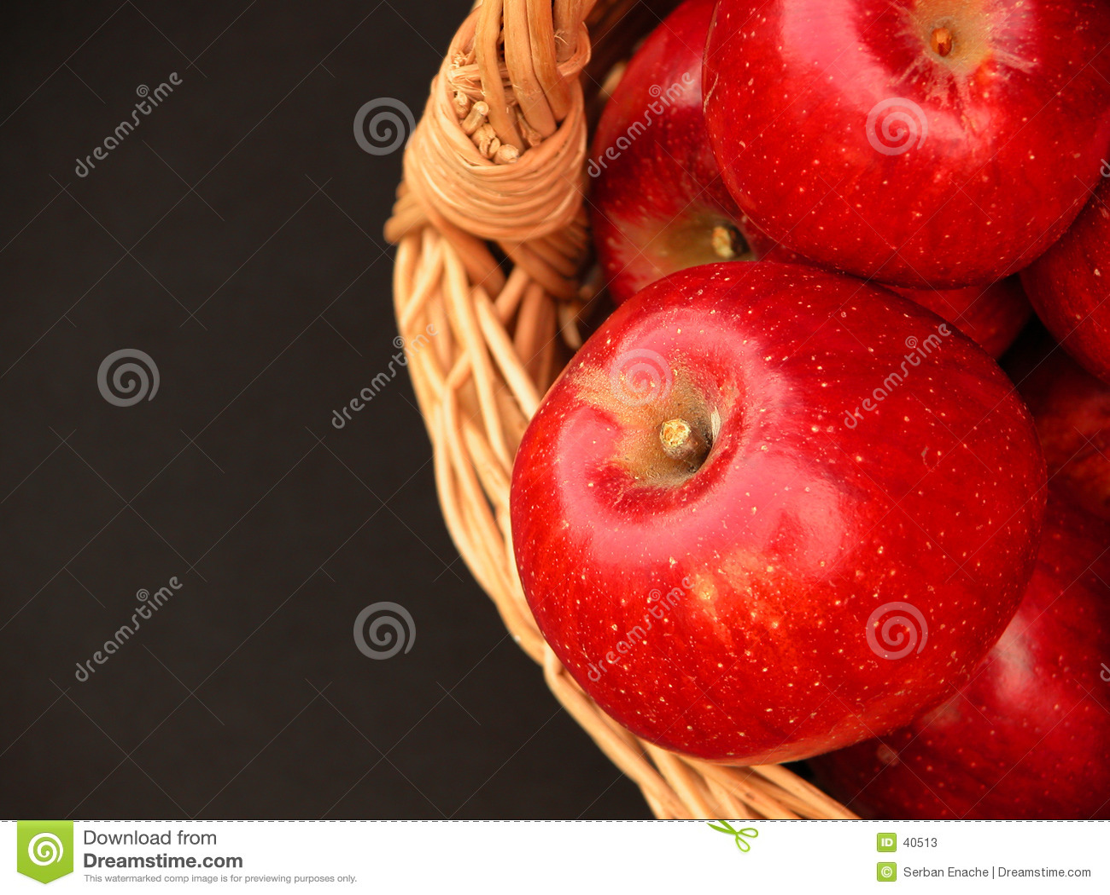 Cesta das vitaminas - maçãs 3