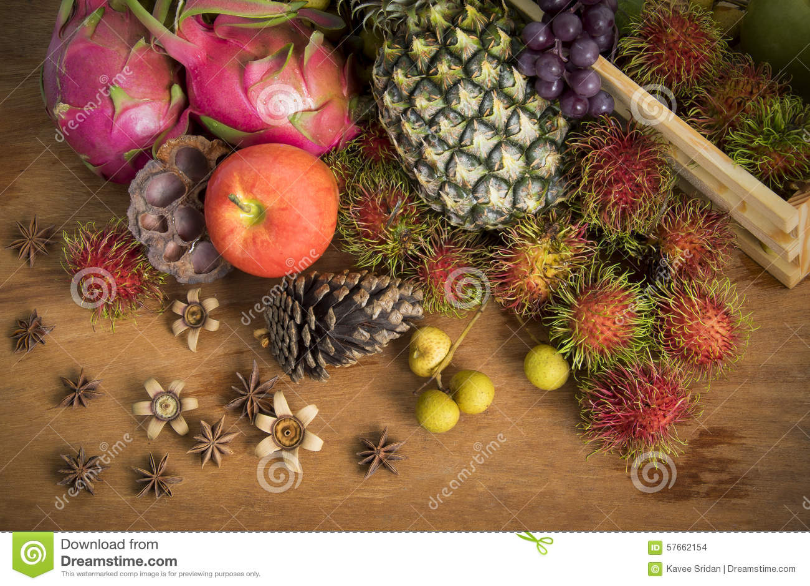 Cesta de fruto