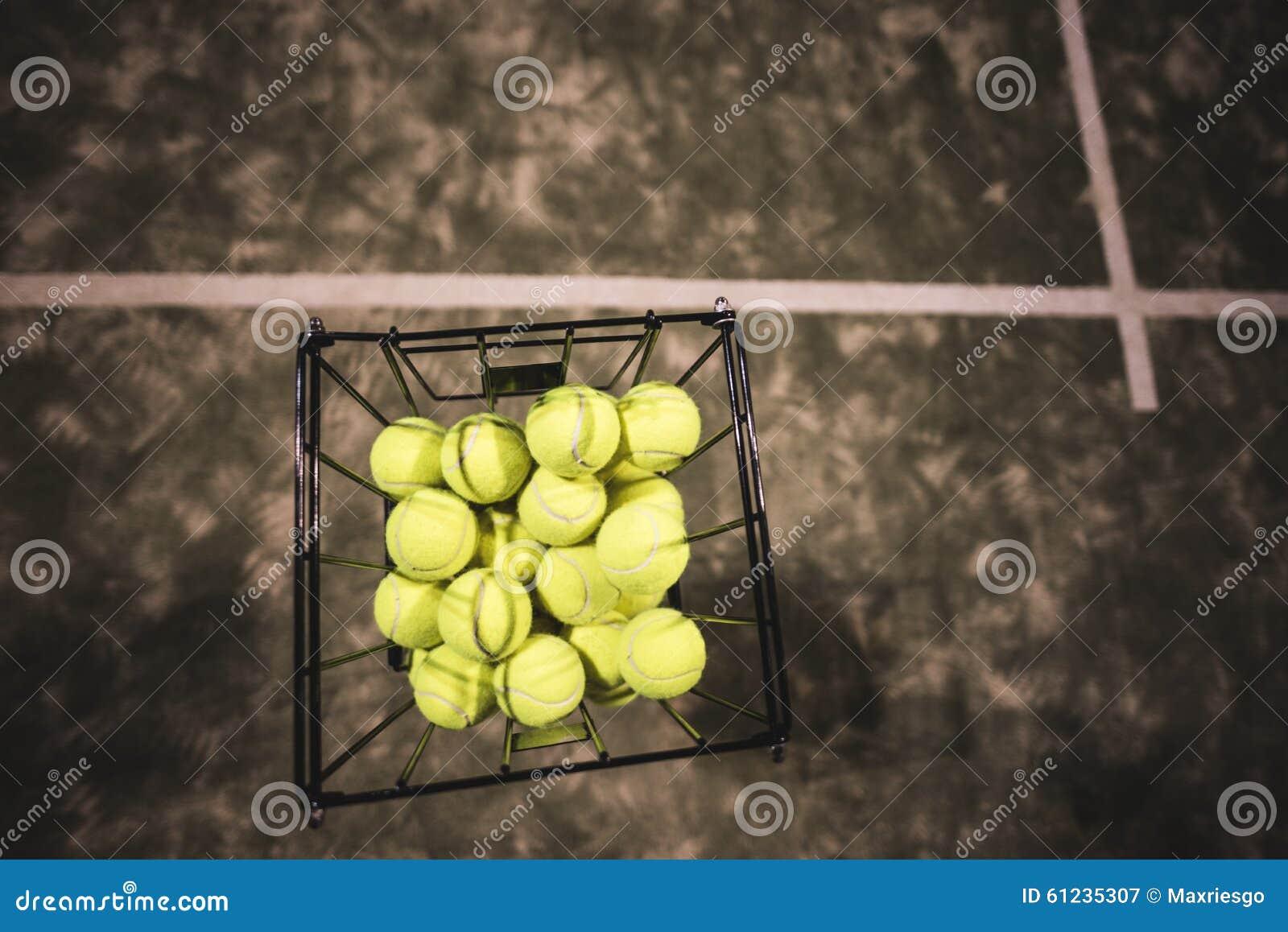 Cesta del tenis de la paleta