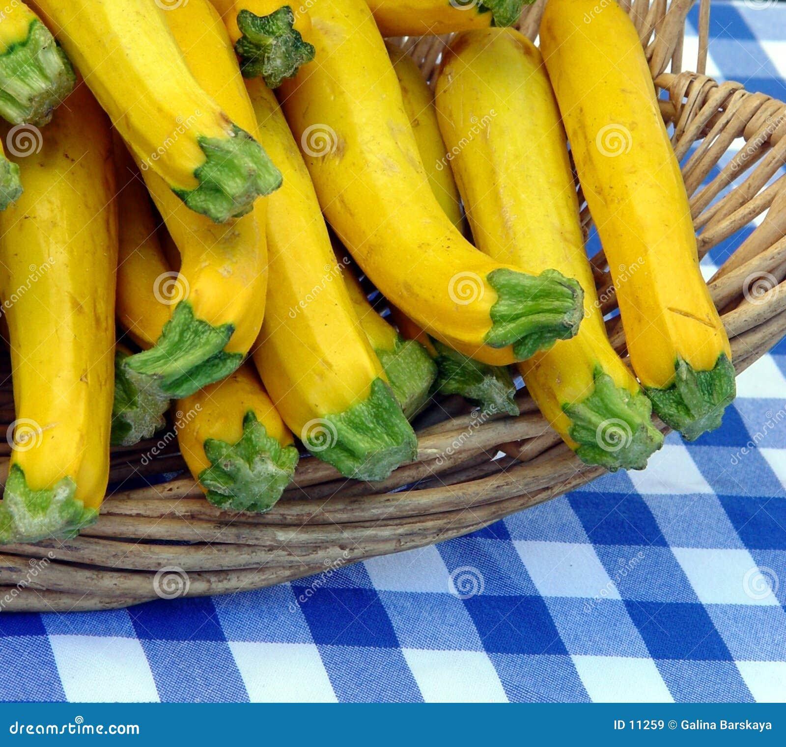 Cestino con lo zucchini