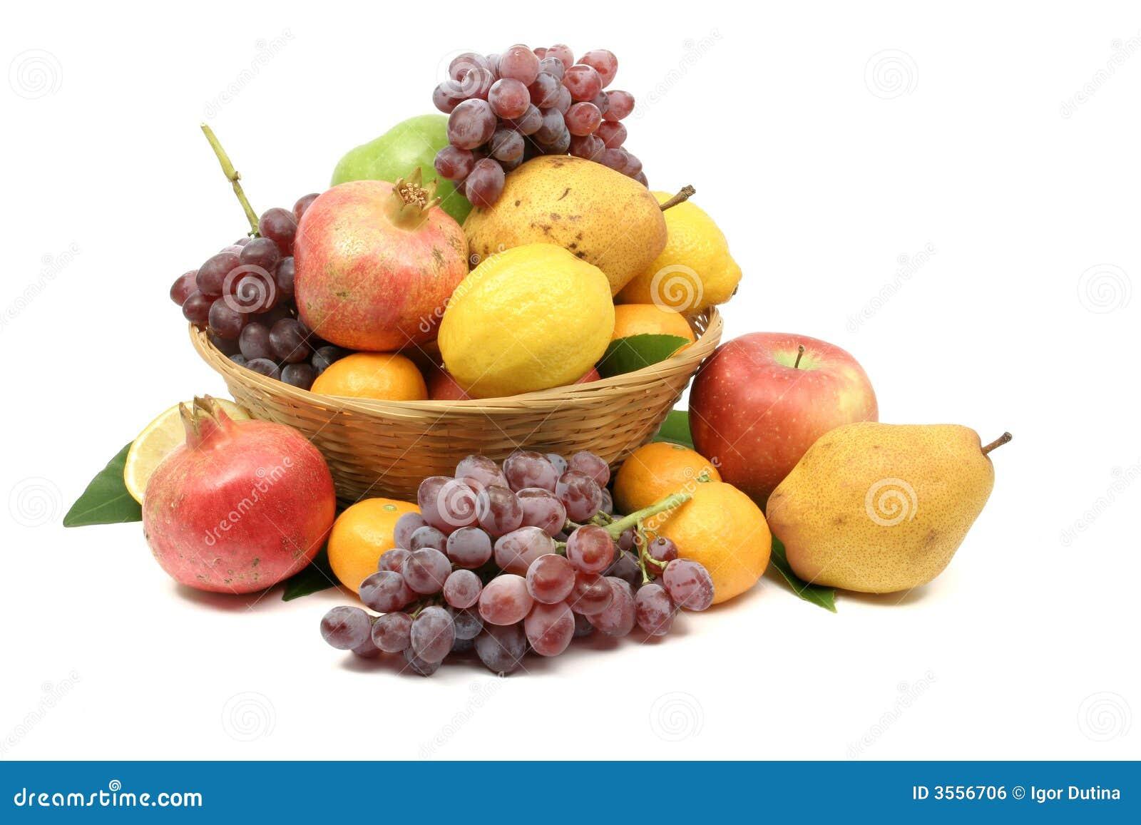 Cestino di frutta mediterraneo