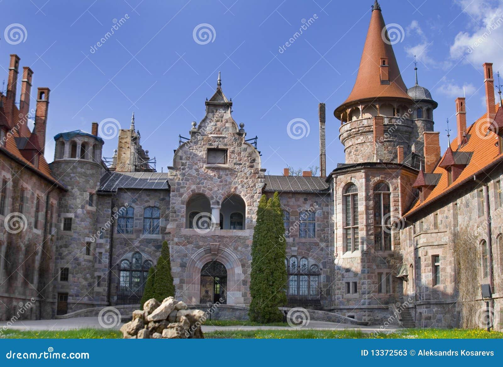 Cesvaine pałac