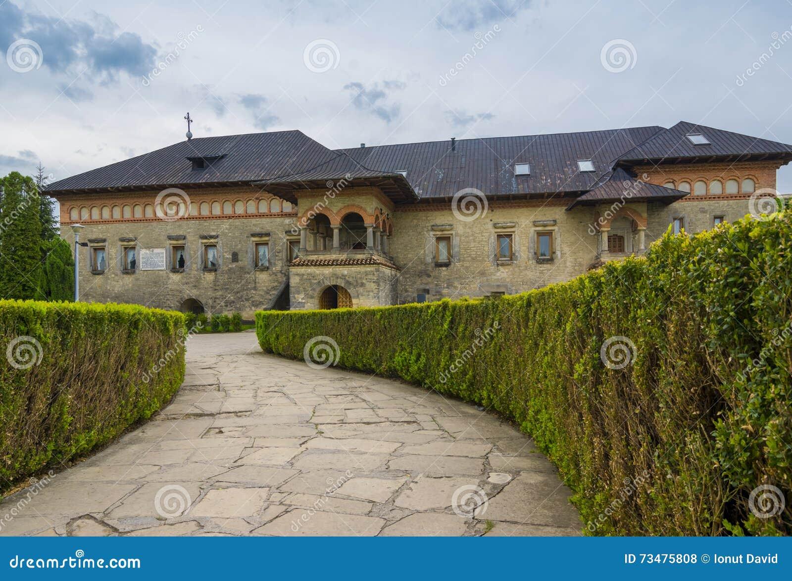Cetatuia修道院在Iasi,罗马尼亚