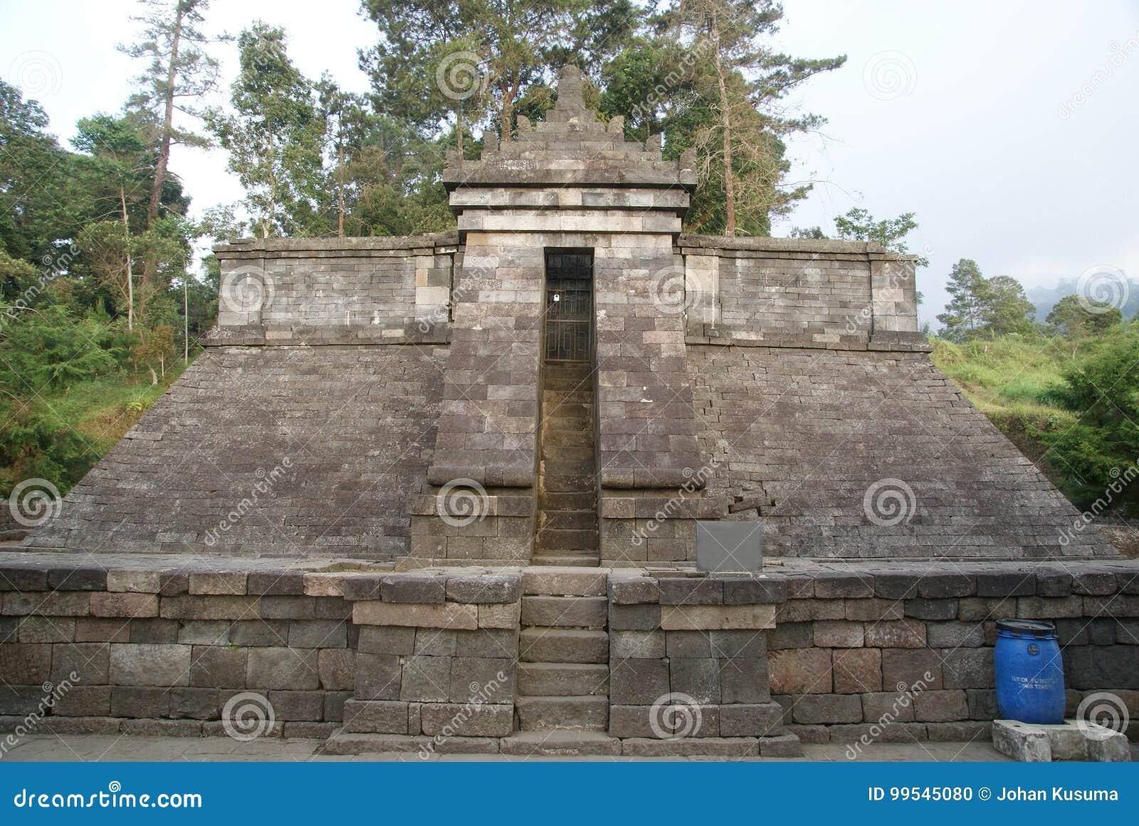 Cetho Temple Candi Cetho Located In Karanganyar Java Indonesia