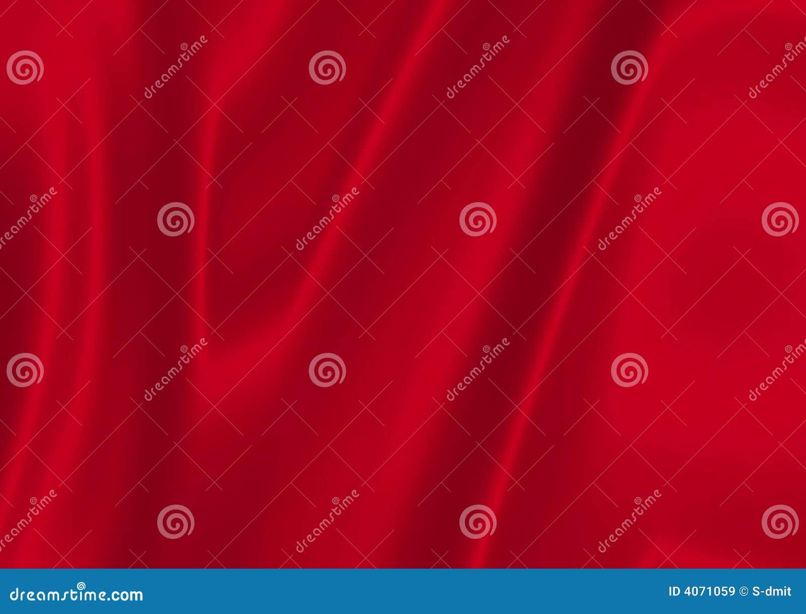 Cetim vermelho