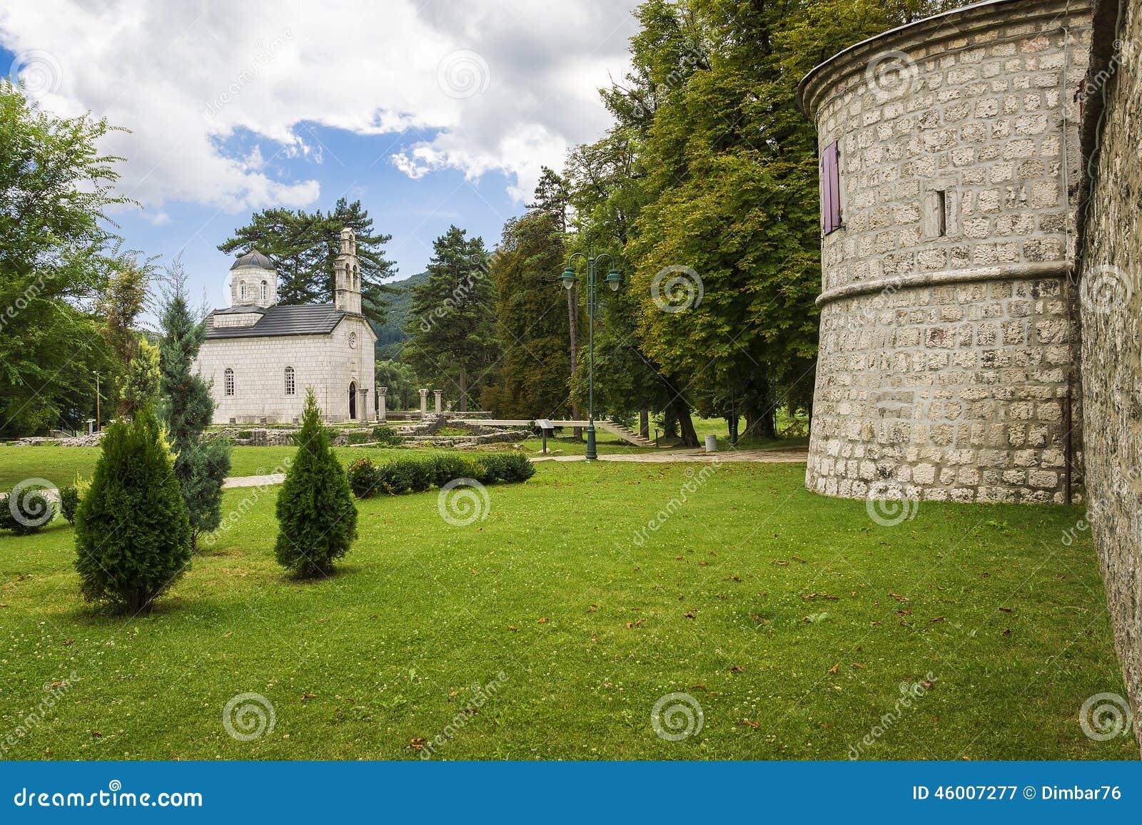 Cetinje, Черногория (старая столица Черногории)