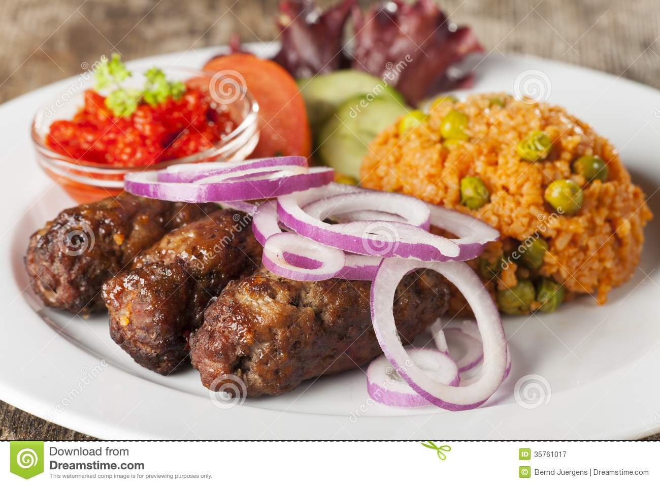 Cevapcici Royalty Free Stock Photography - Image: 35761017
