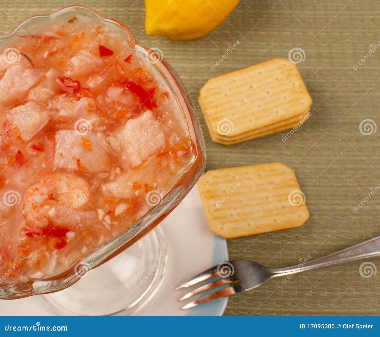 Ceviche de la merluza