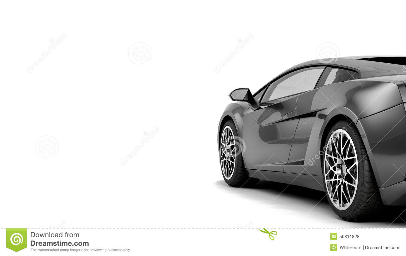 Car Detailing Prices >> CG Render Of Generic Luxury Coupe Car Stock Illustration - Image: 50811828