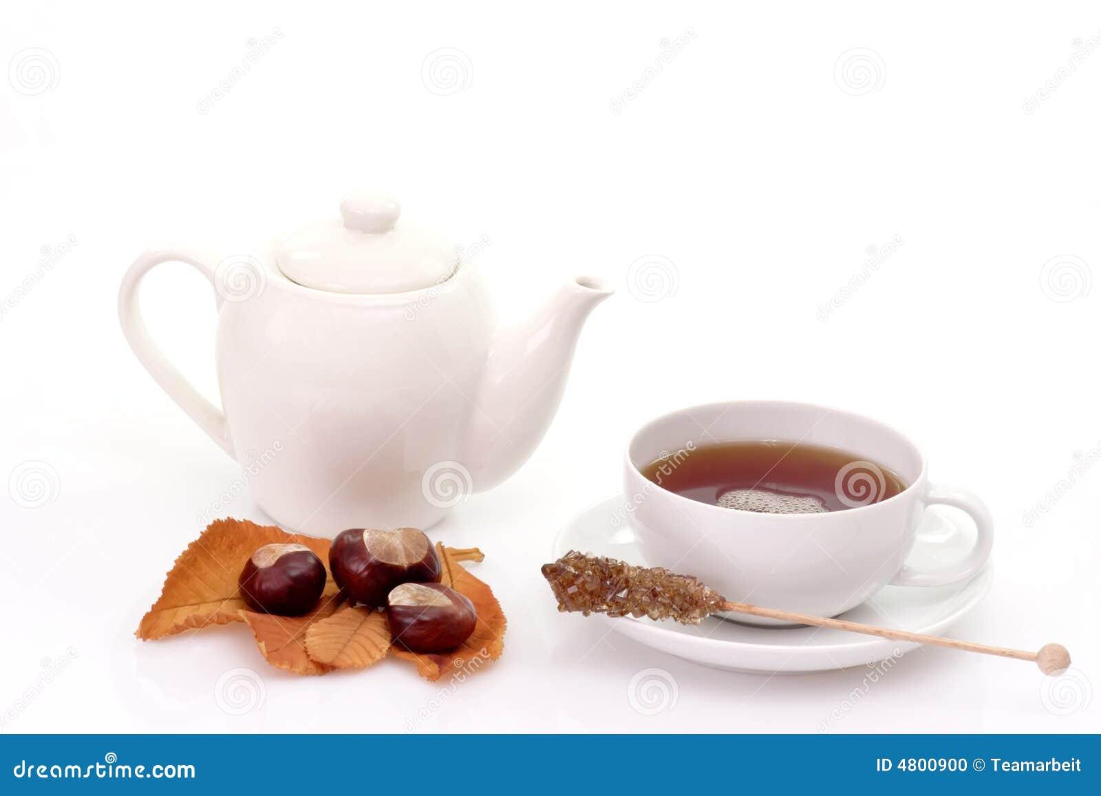 Chá com teapot