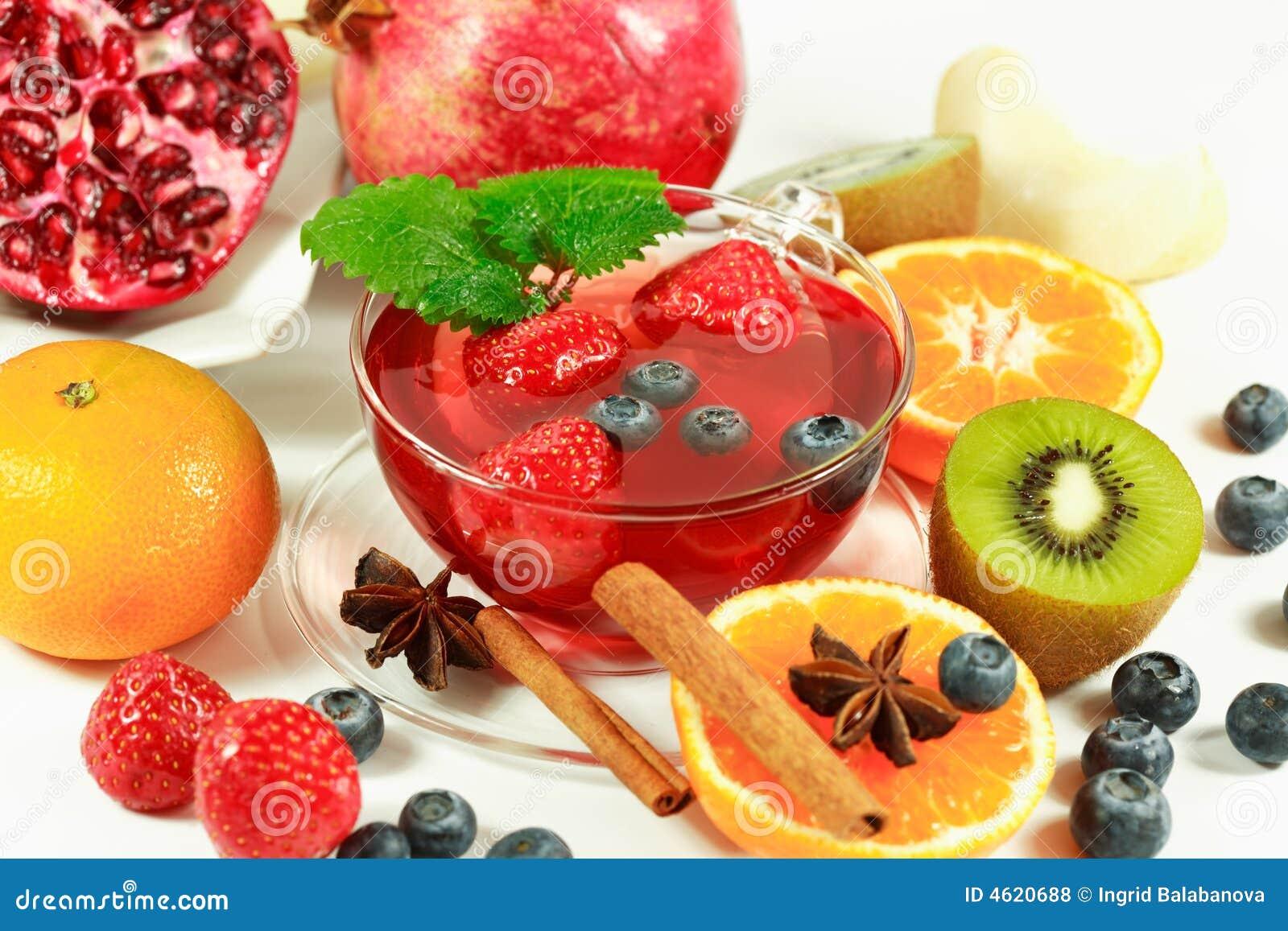 Chá da fruta