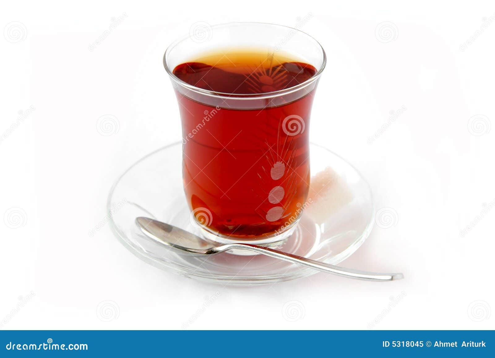 Chá de escarlate, quente e doce