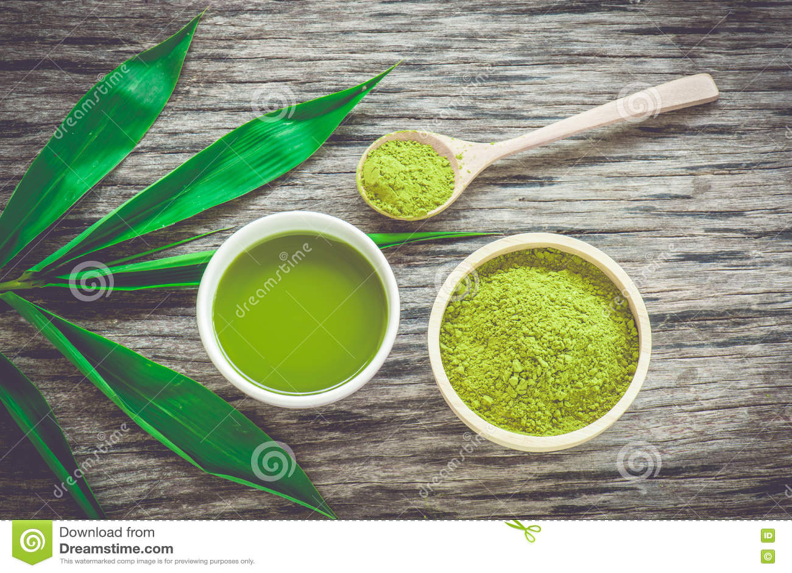 Chá de Matcha
