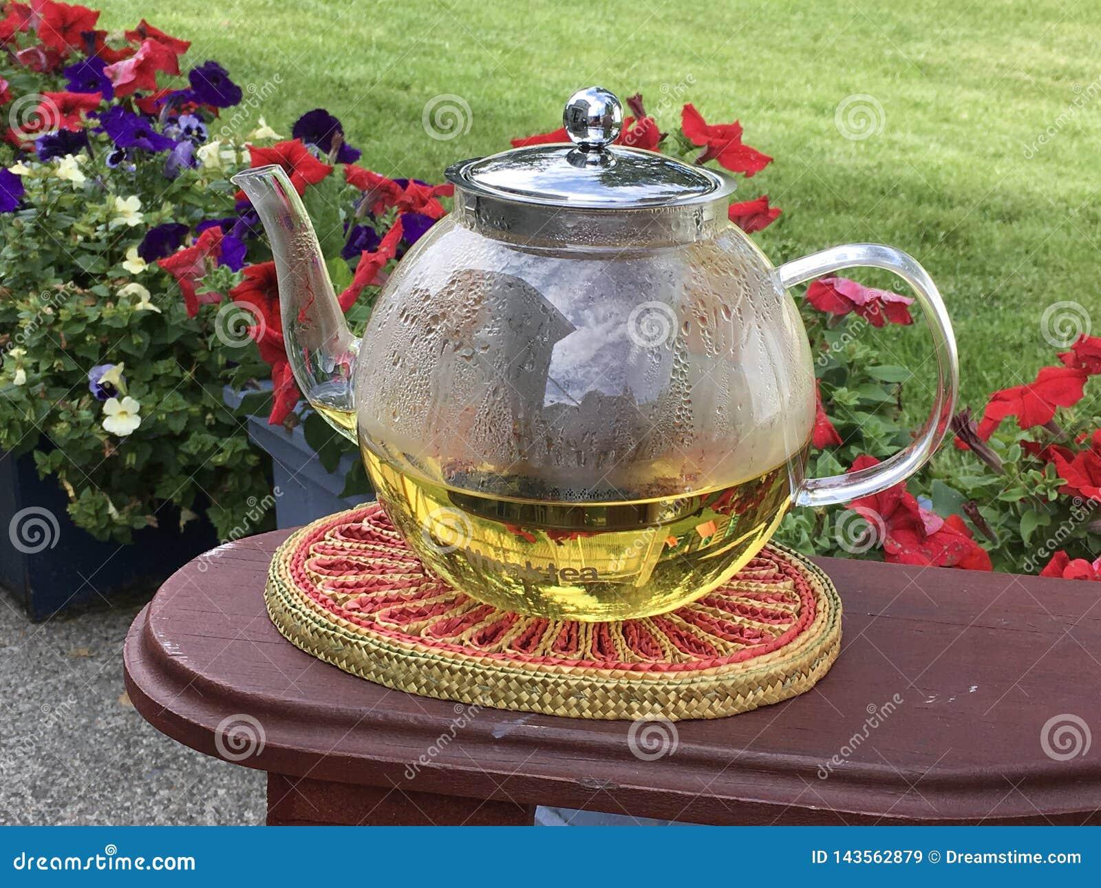 Chá do jardim