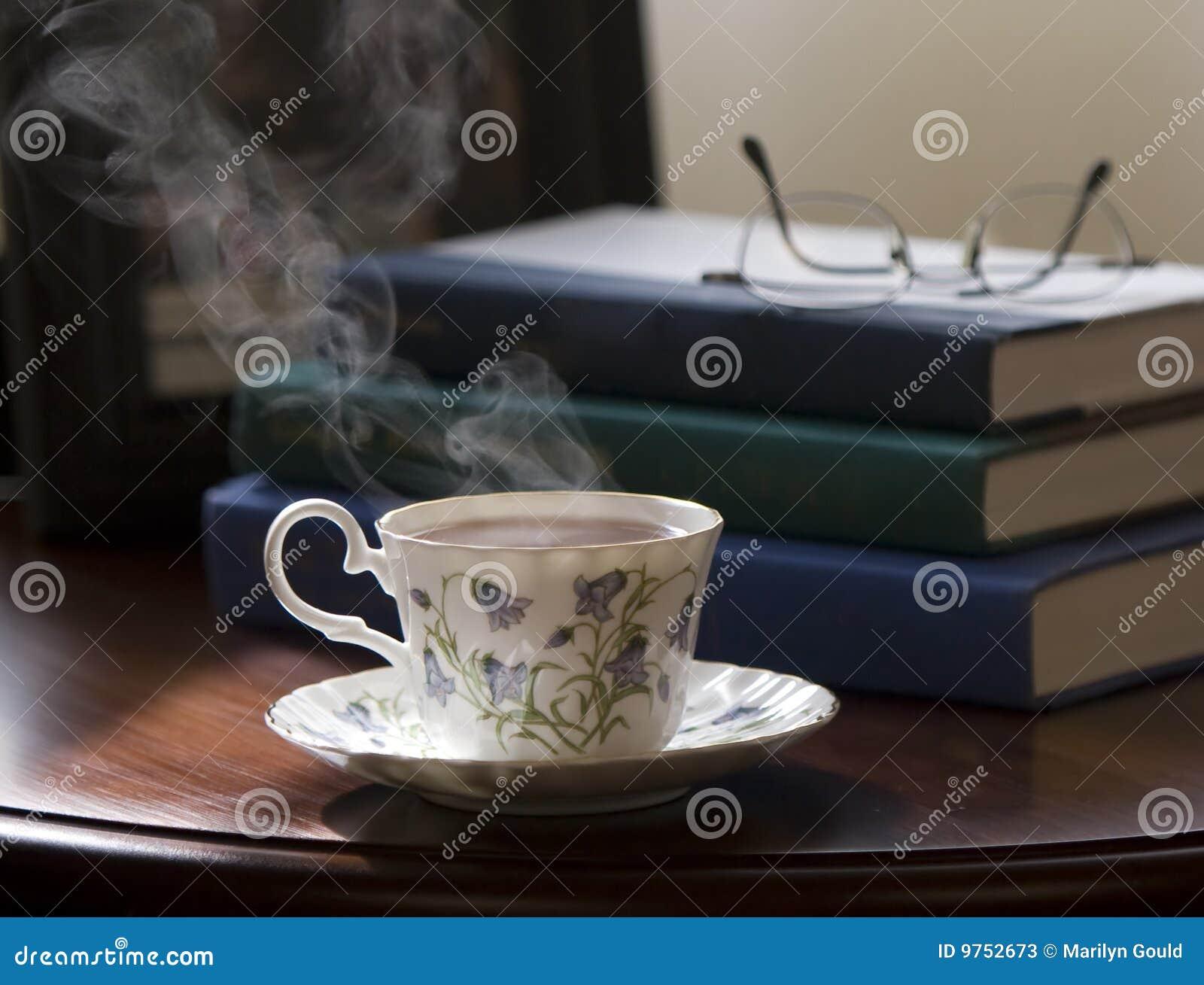 Chá e livros
