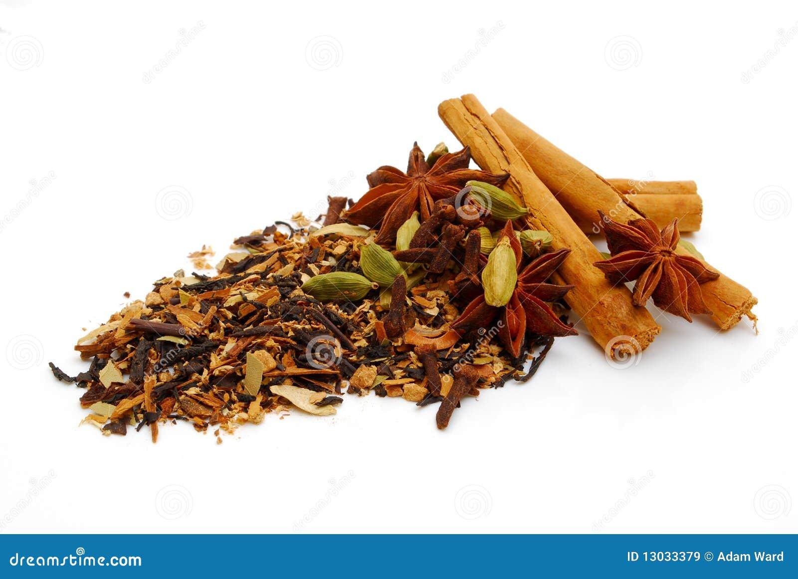 Chá indiano de chai