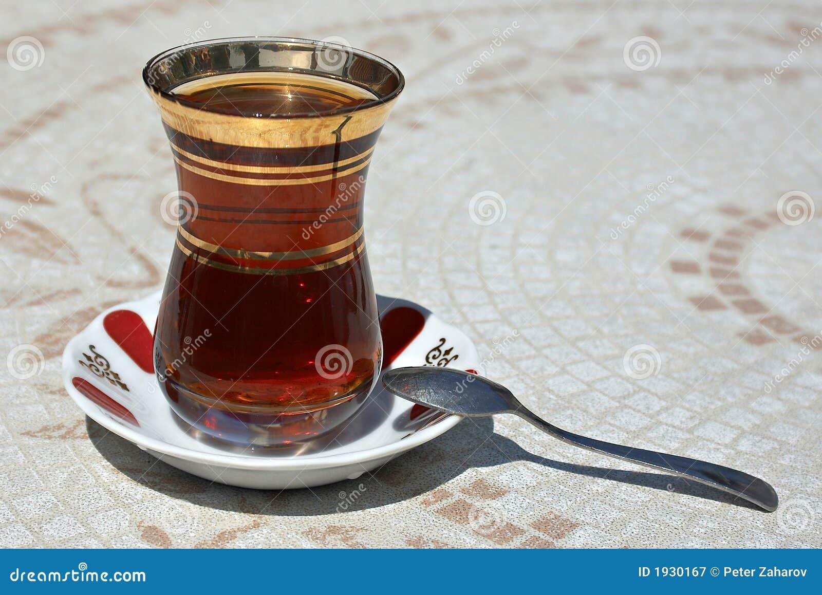 Chá turco preto