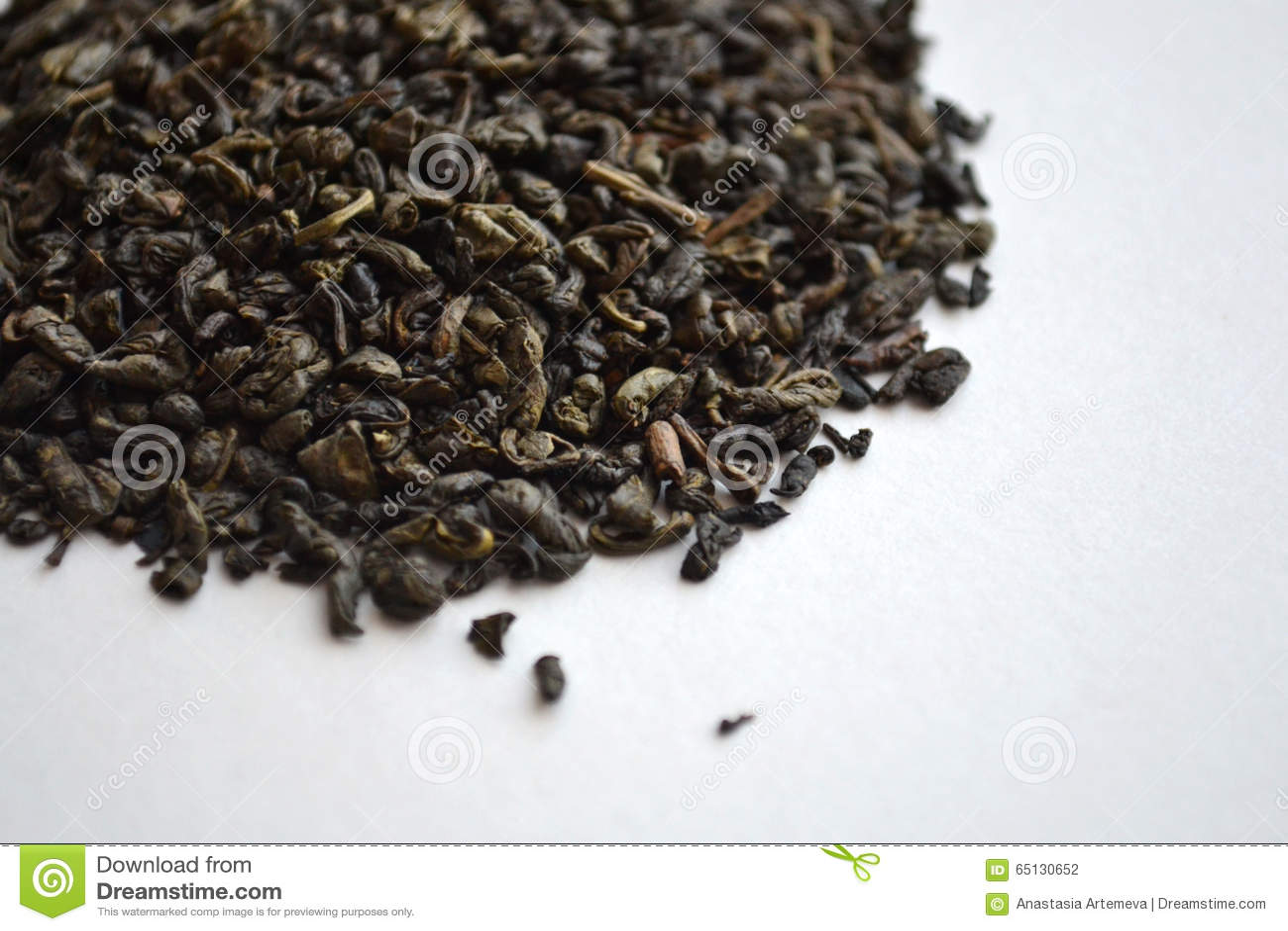 Chá verde da pólvora chinesa