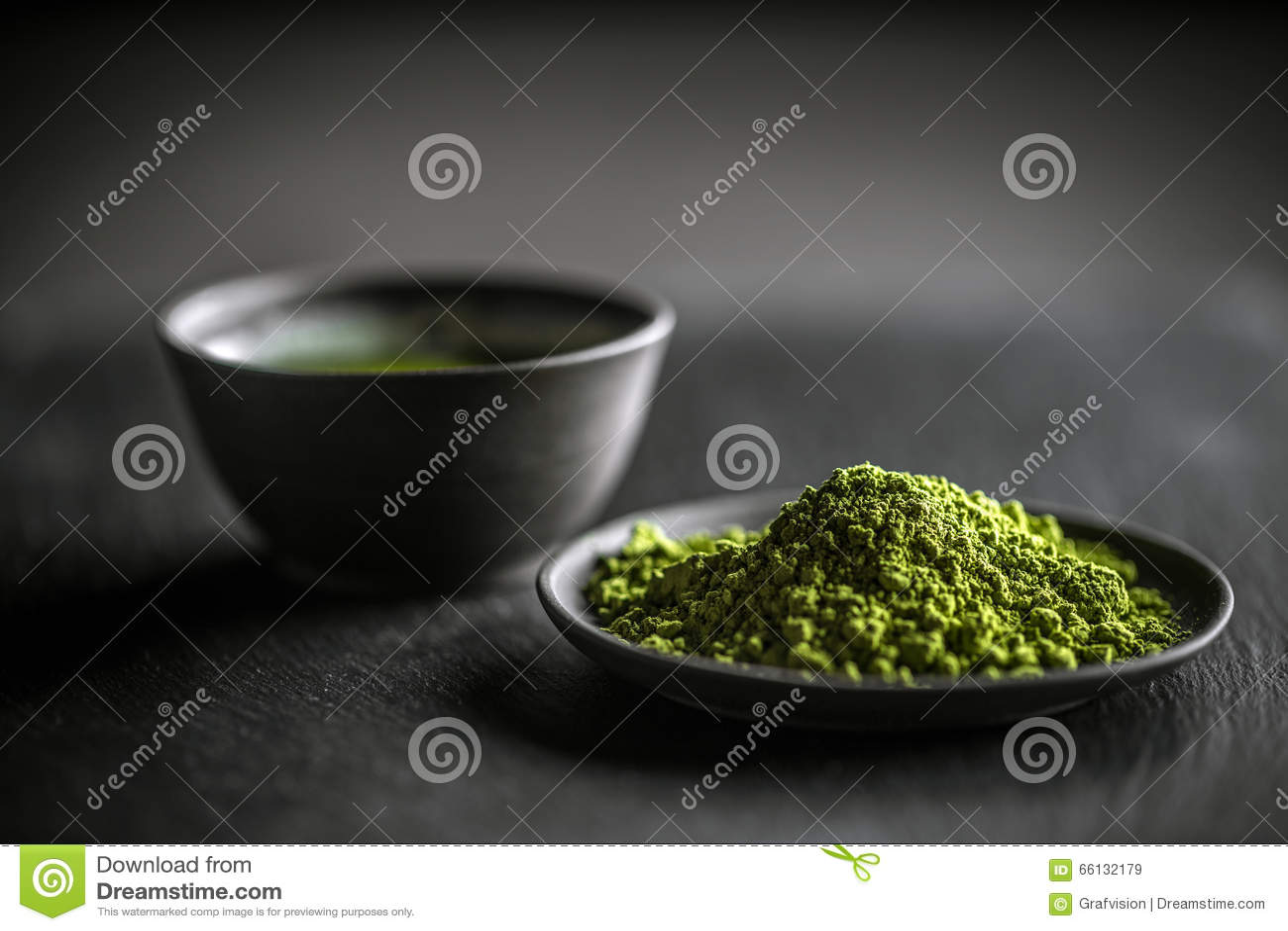 Chá verde de Matcha