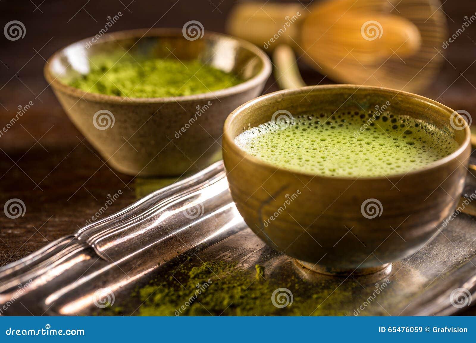 Chá verde do matcha