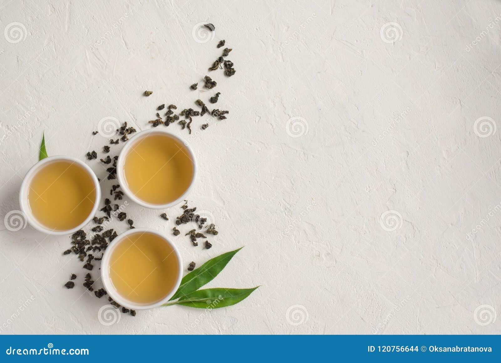Chá verde do oolong