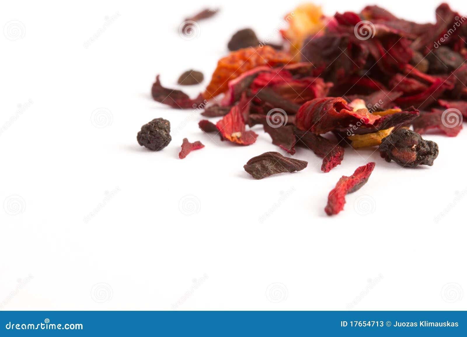 Chá vermelho da fruta