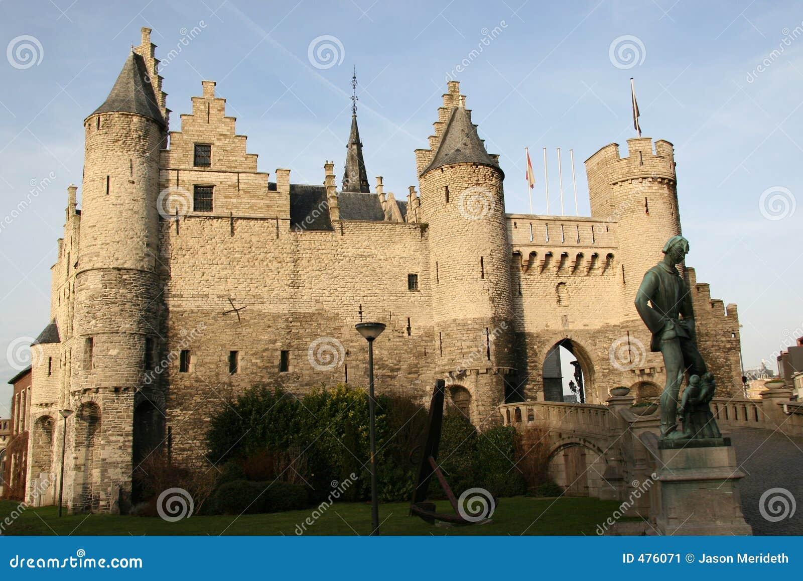 Château à Anvers, Belgique