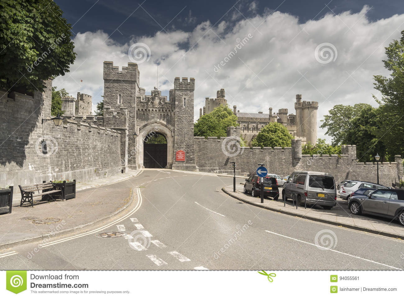 Château Arundel le Sussex occidental d Arundel de passage