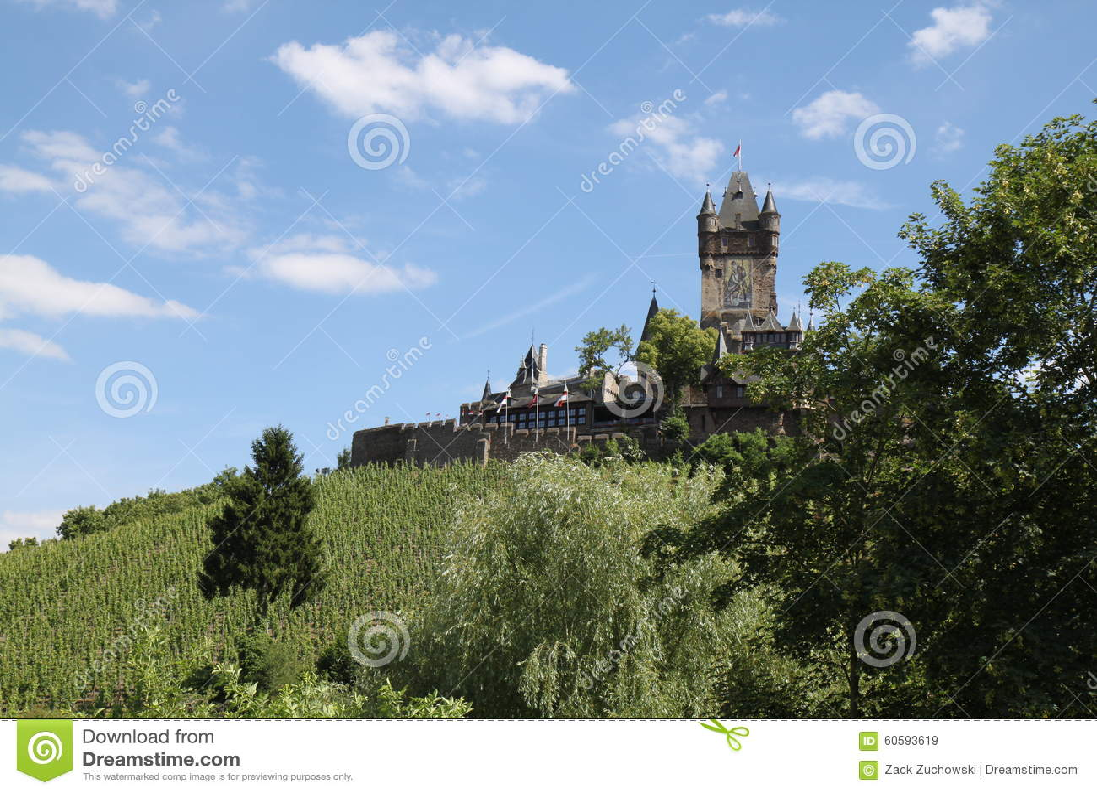 Château Cochem de Reichsburg