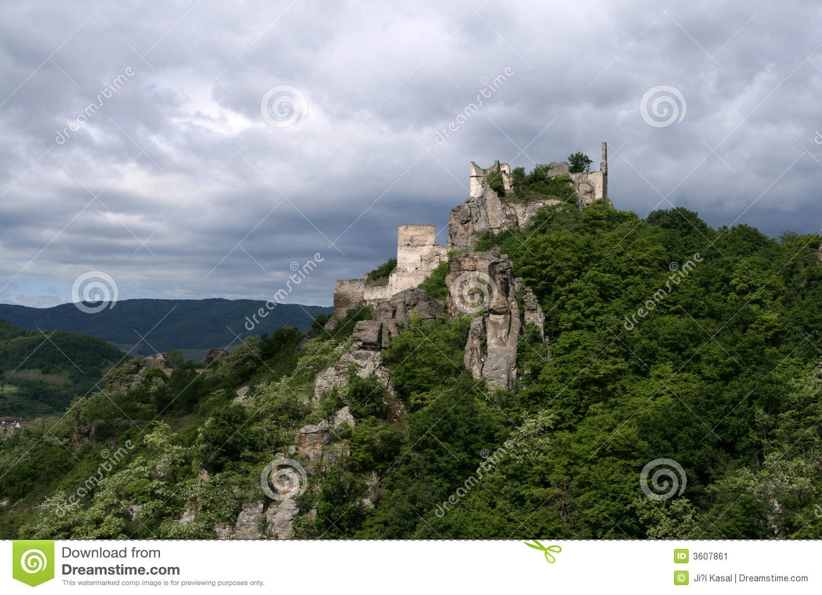 Château Dürenstein dans Wachau,