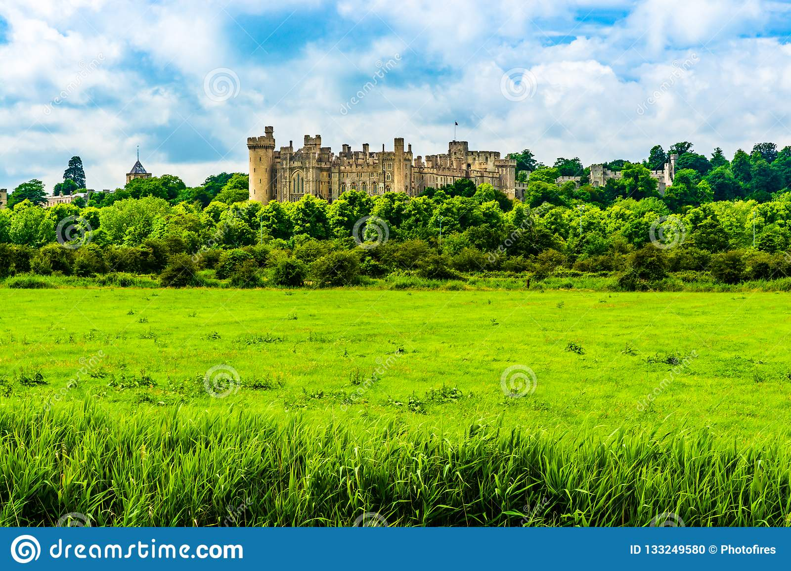 Château d Arundel dans le Sussex occidental, Angleterre, R-U