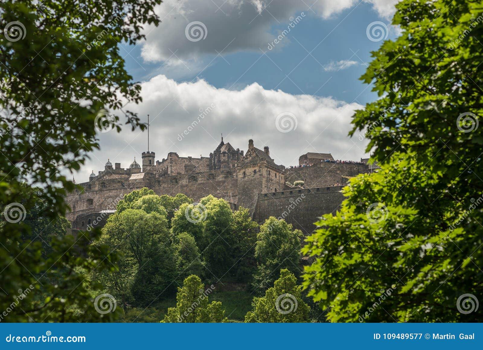 Château d Edimbourg, Edimbourg, histoire écossaise