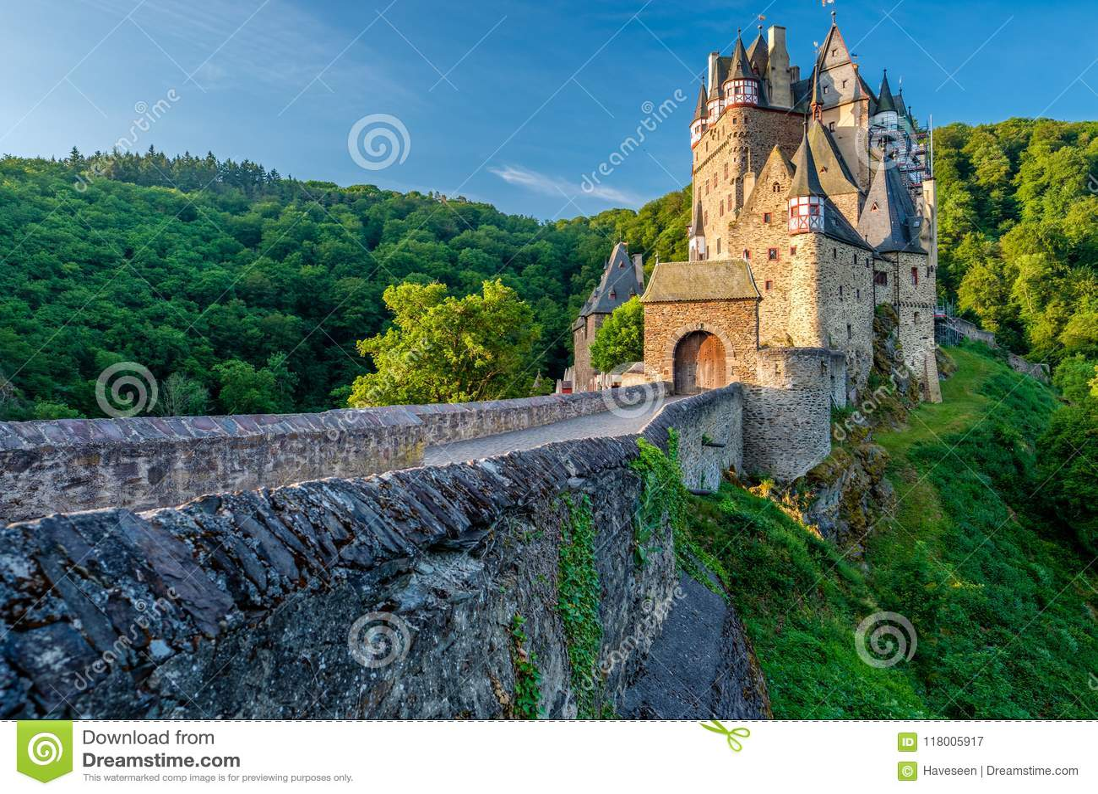 Château d Eltz de Burg au Rhénanie-Palatinat, Allemagne