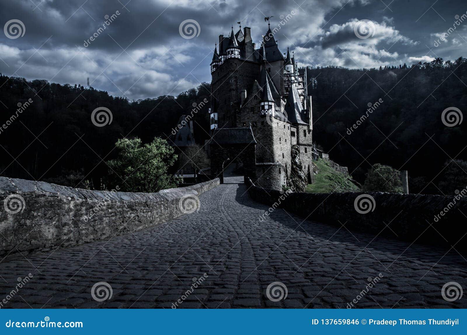Château d Eltz de Burg dans Wierschem, Allemagne