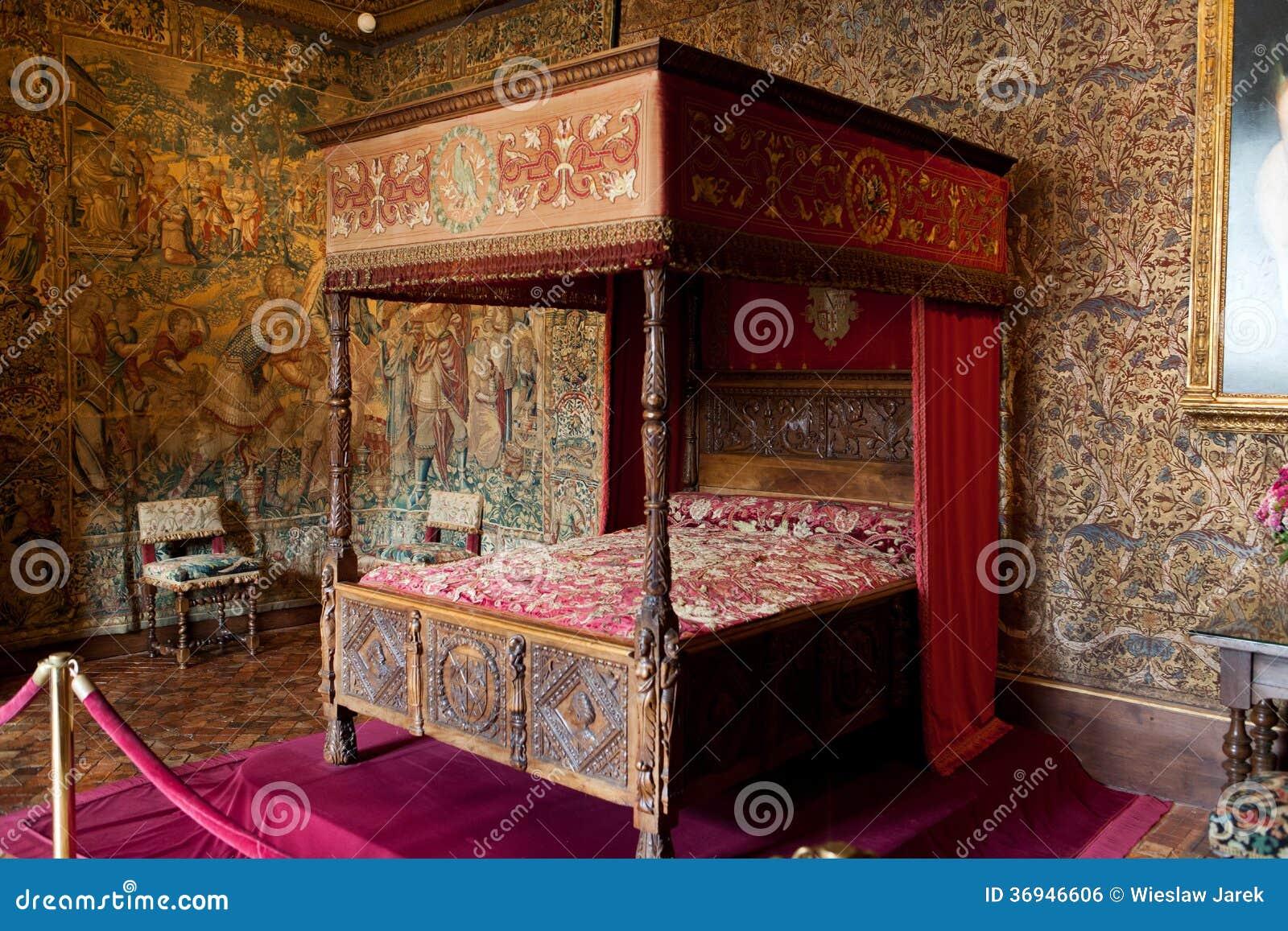 Ch teau d 39 int rieur de chenonceau image libre de droits for Chateau chenonceau interieur