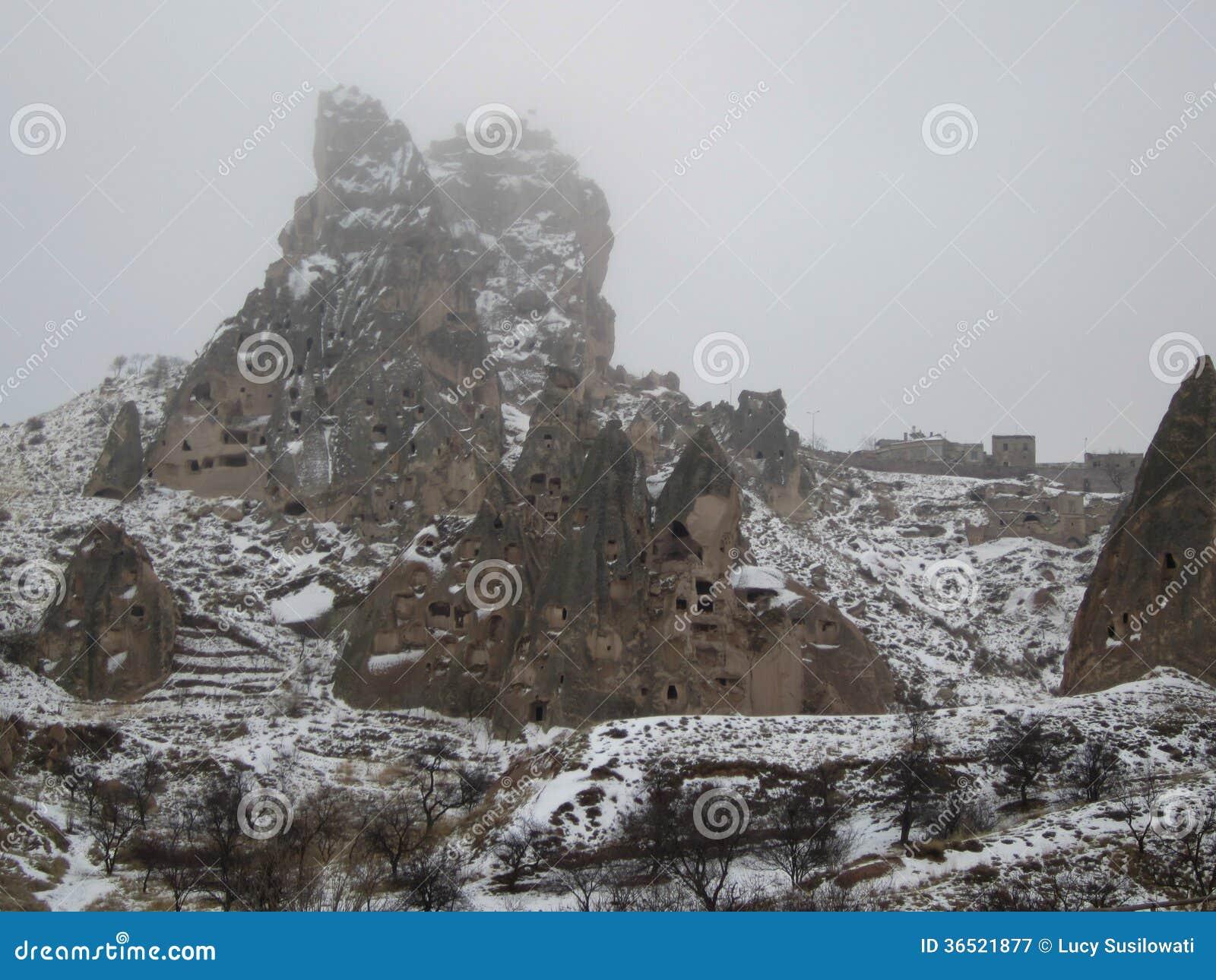Château d Uçhisar/château du propriétaire dans Cappadocia