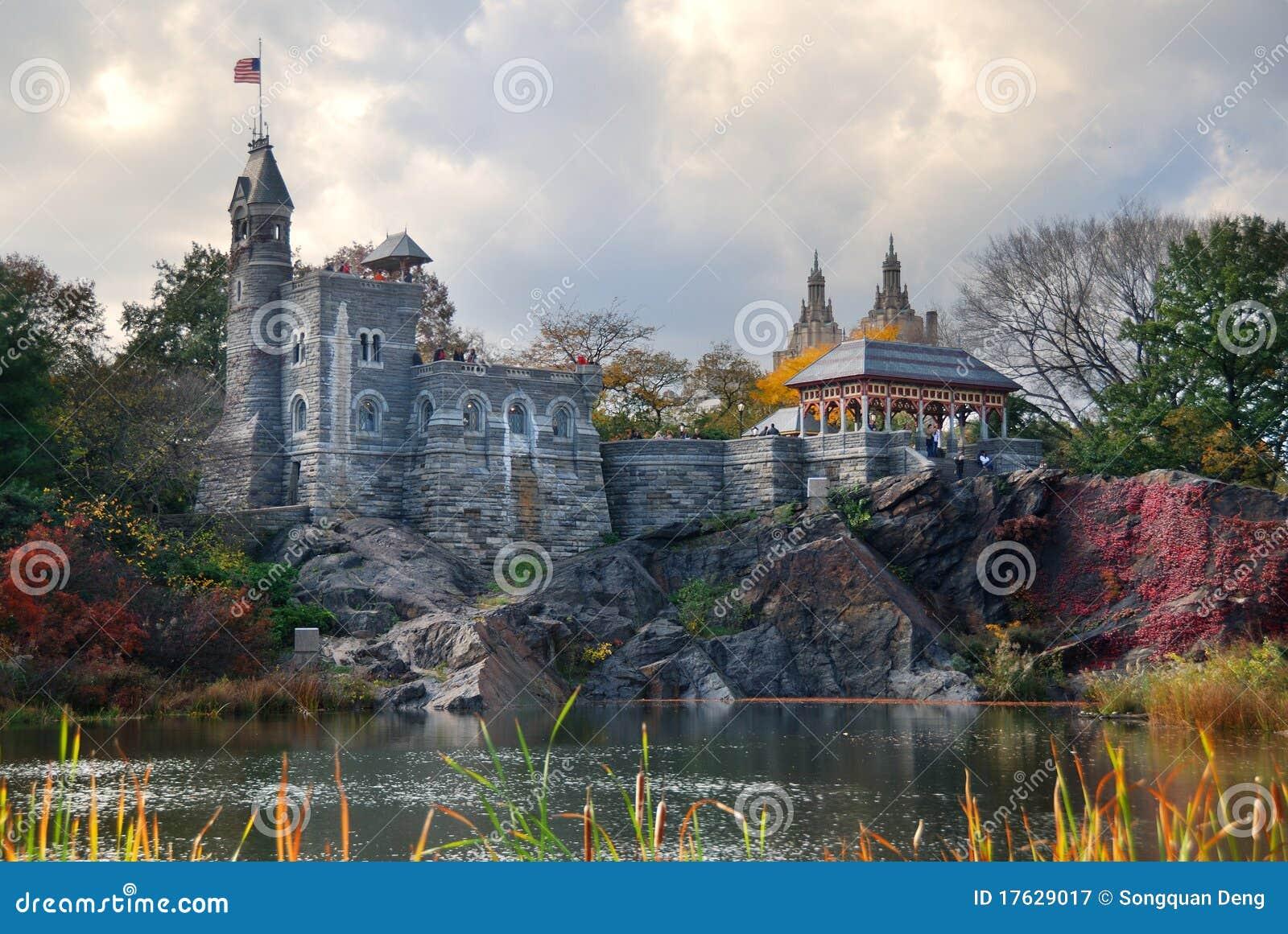 Château de belvédère de New York City Central Park