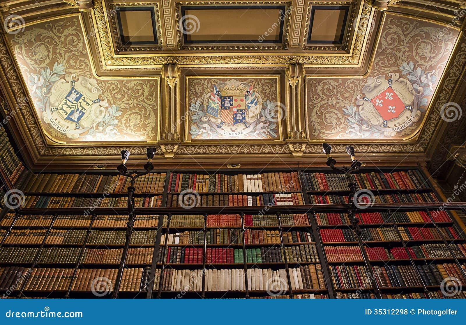 Ch teau de chantilly biblioth que l 39 oise france photo for France interieur